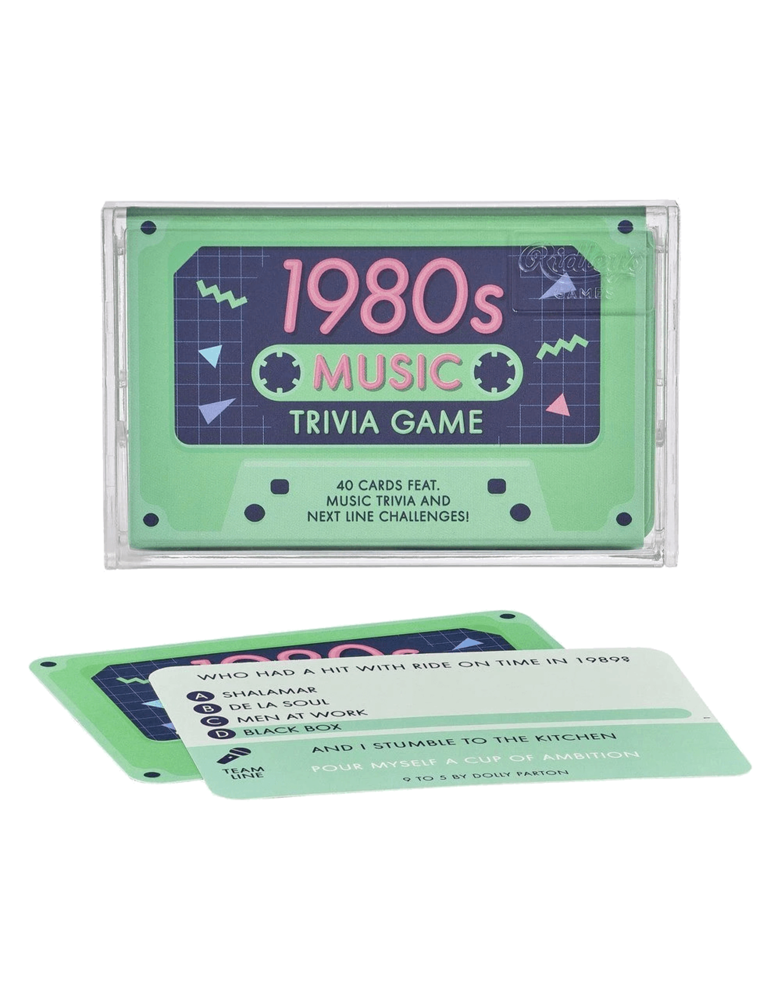 Wild and Wolf 1980s Music Trivia Game