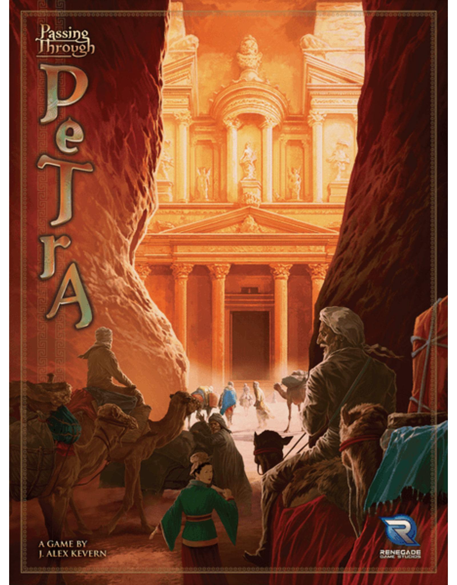Renegade Game Studios Passing Through Petra