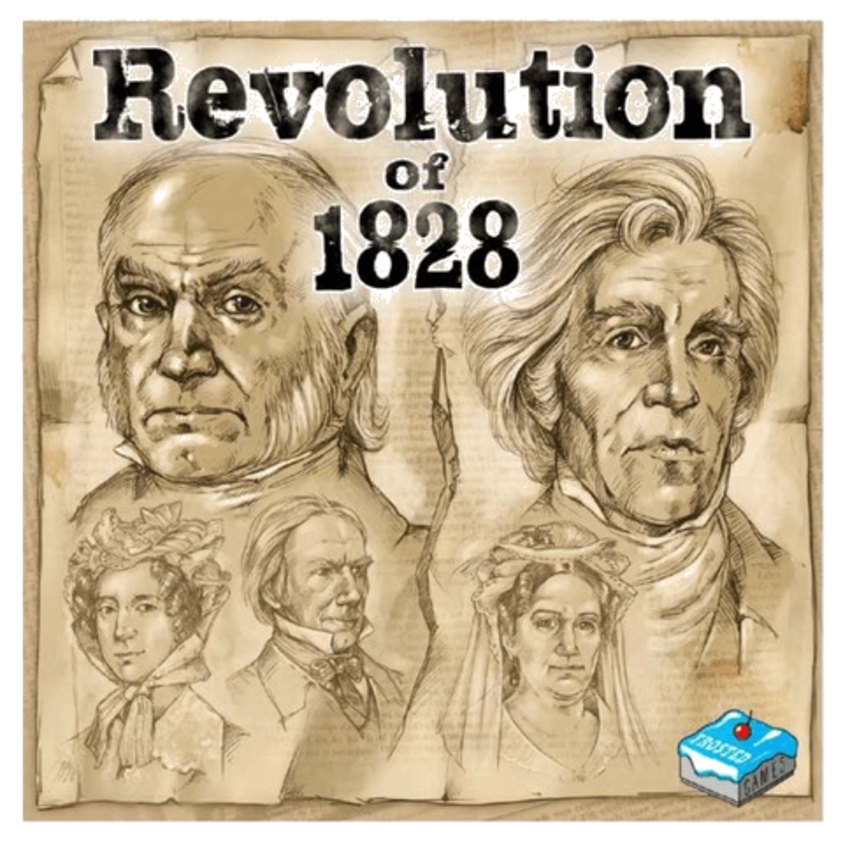 Renegade Game Studios Revolution of 1828
