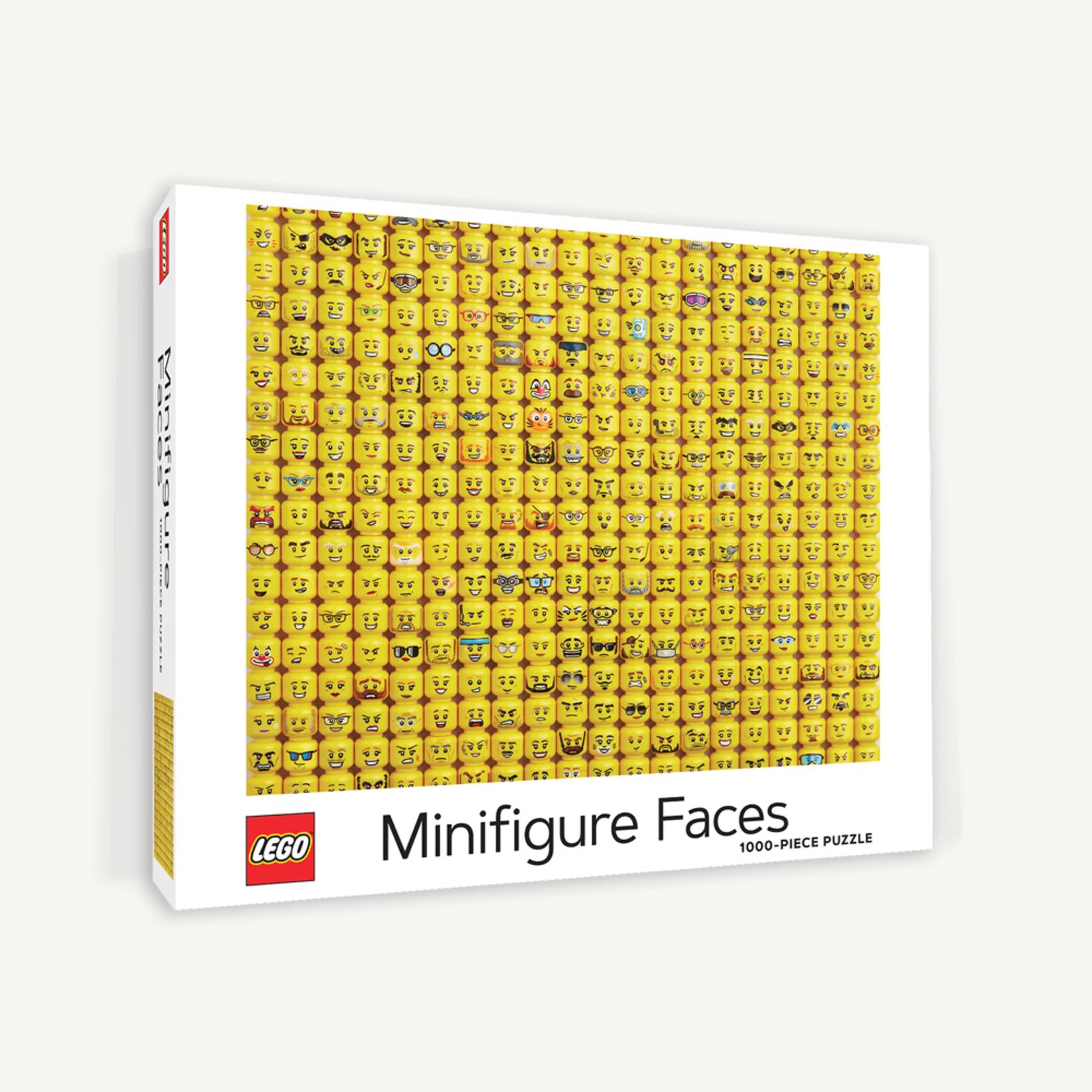 Chronicle Books LEGO Mini Fig Faces1000pc