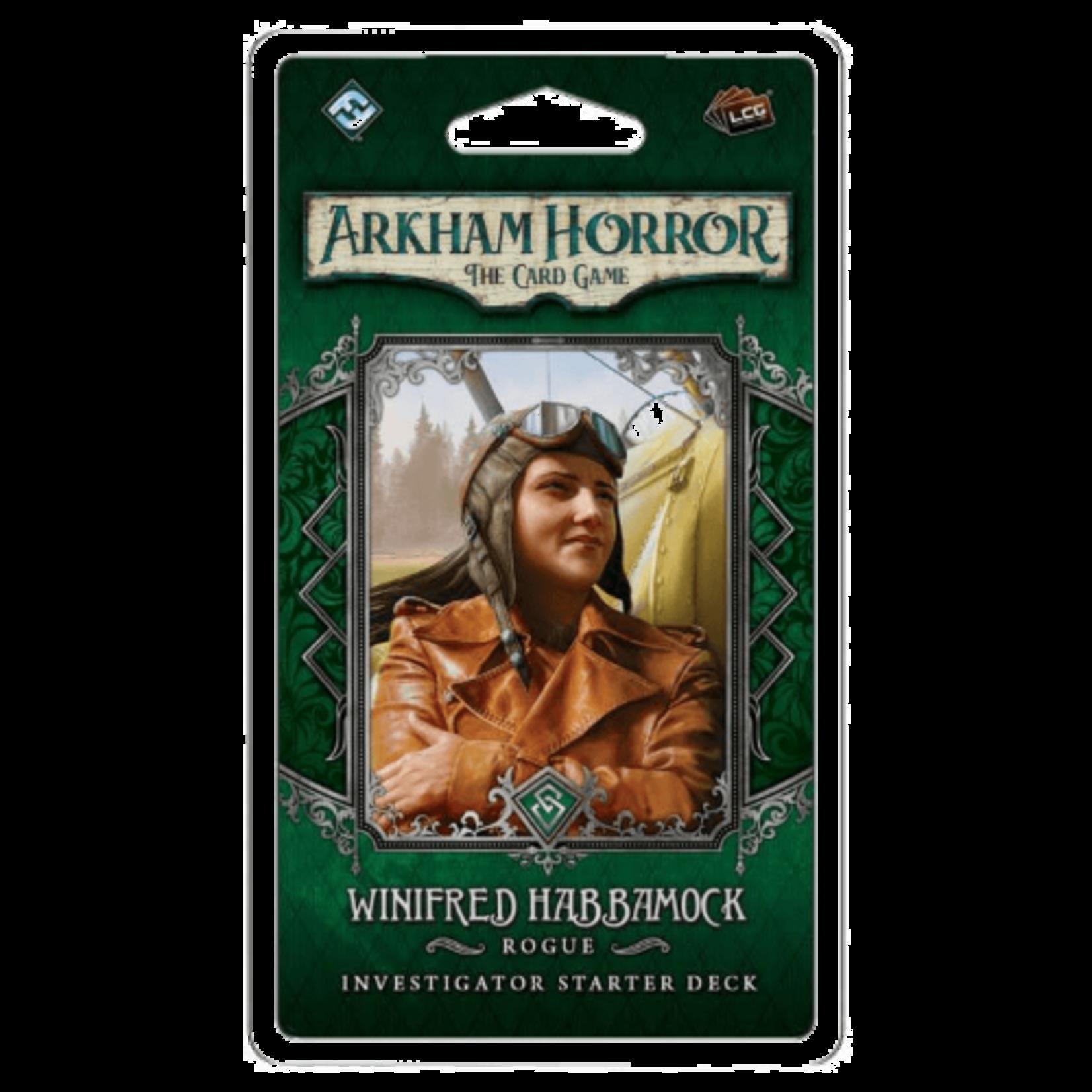 Fantasy Flight Games Arkham LCG: Winifred Habbamock Investigator