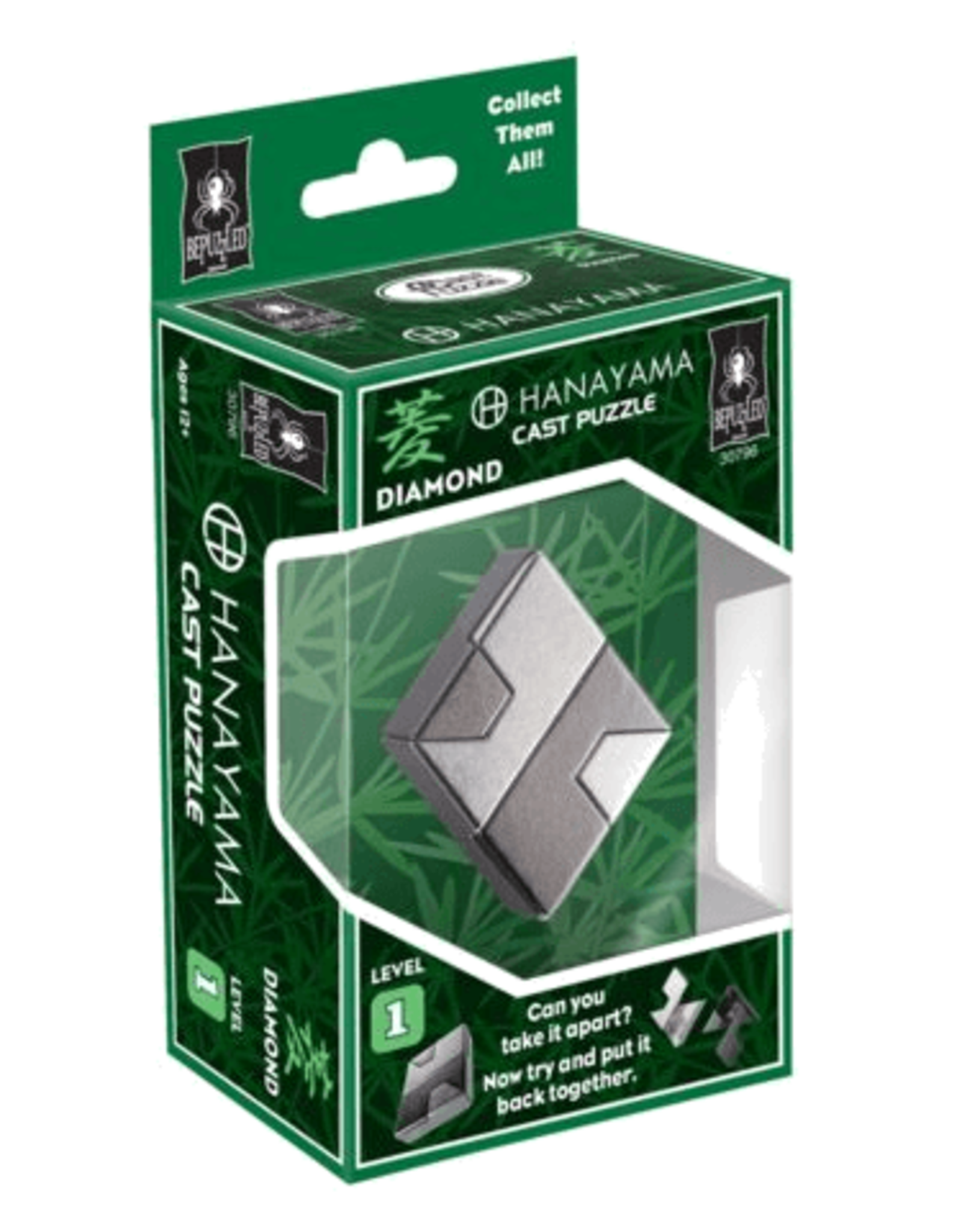Hanayama Lvl 1 Diamond