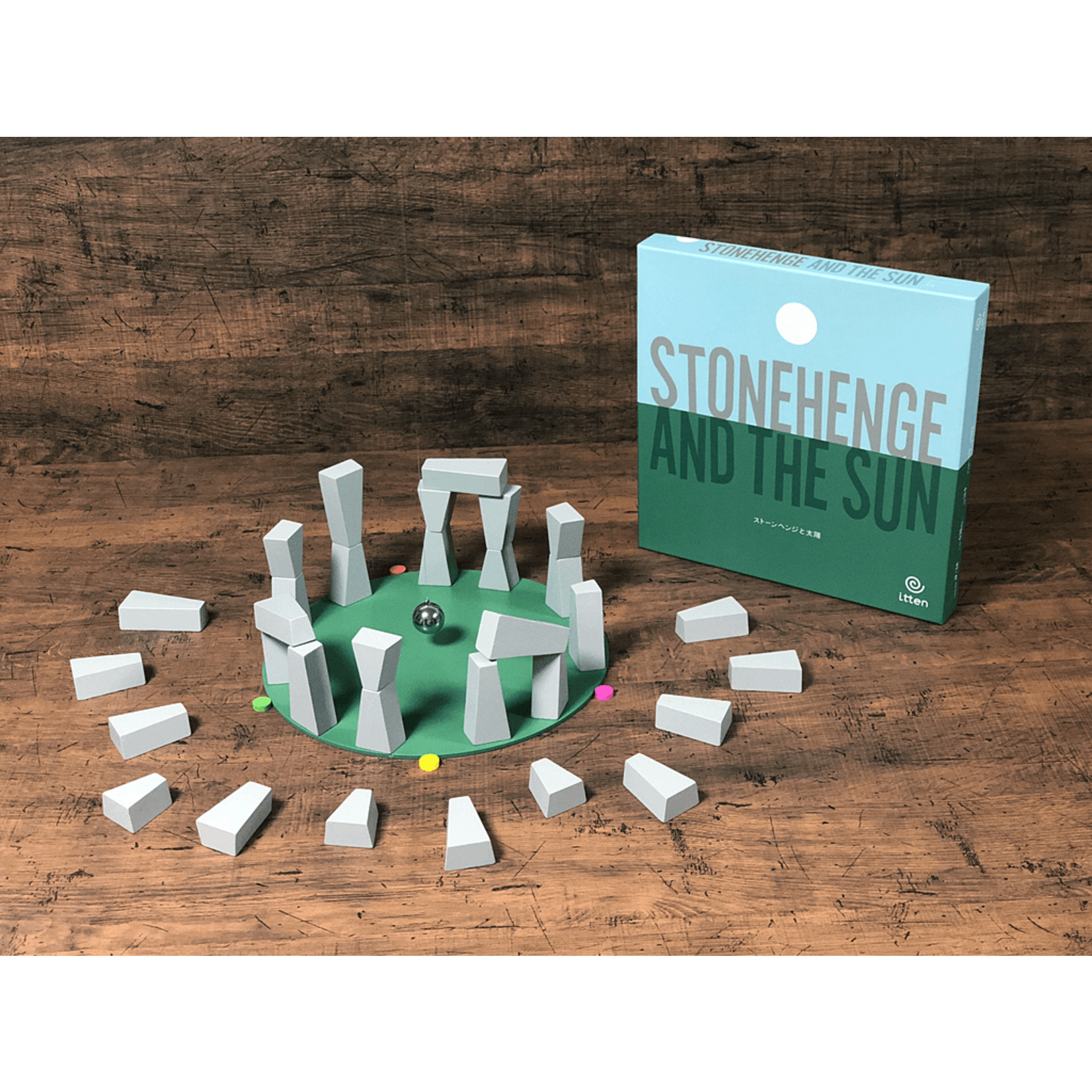 Itten Games Stonehenge and the Sun