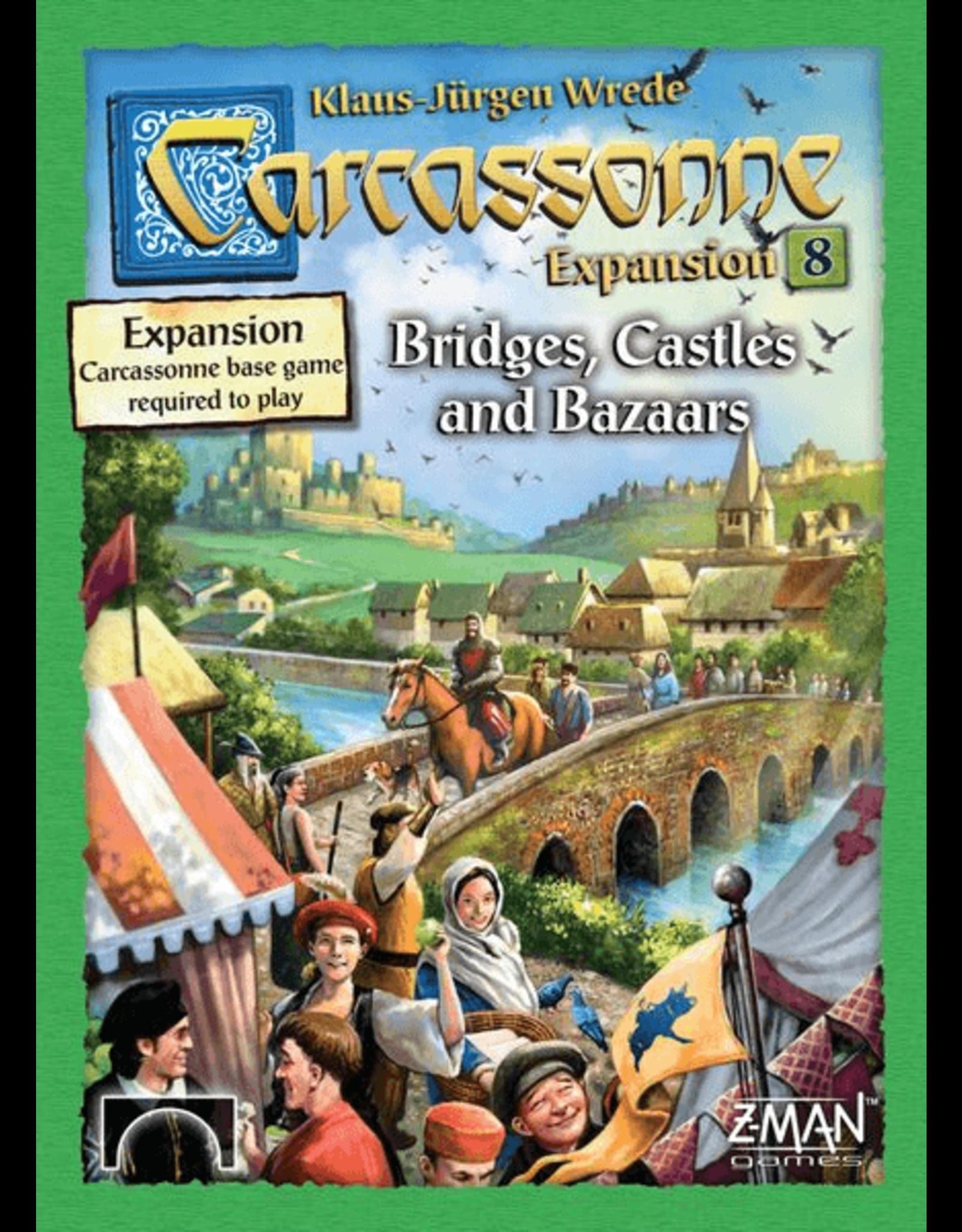 Z-Man Games Carcassonne: Bridges, Castles and Bazaars