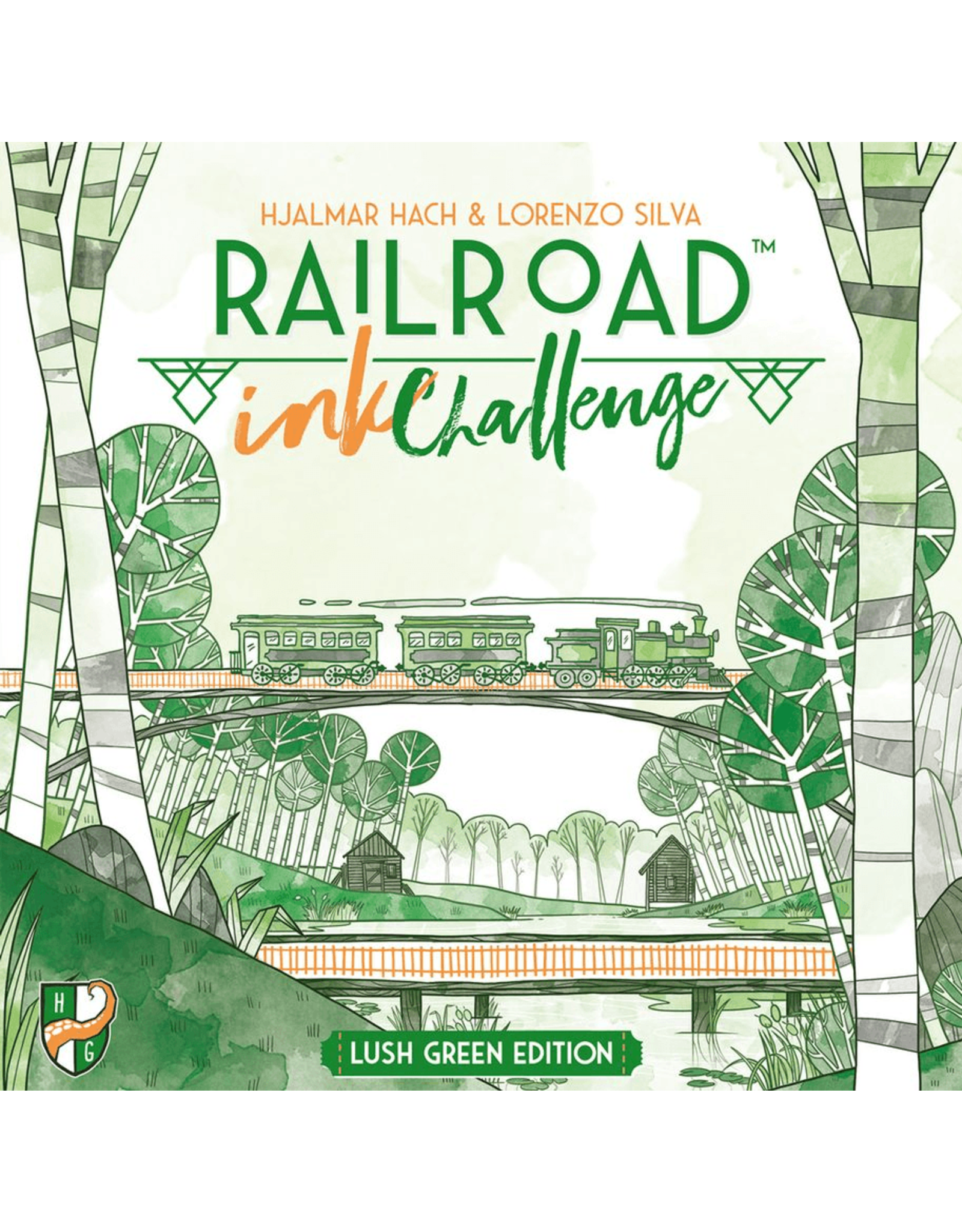 Railroad Ink: Lush Green
