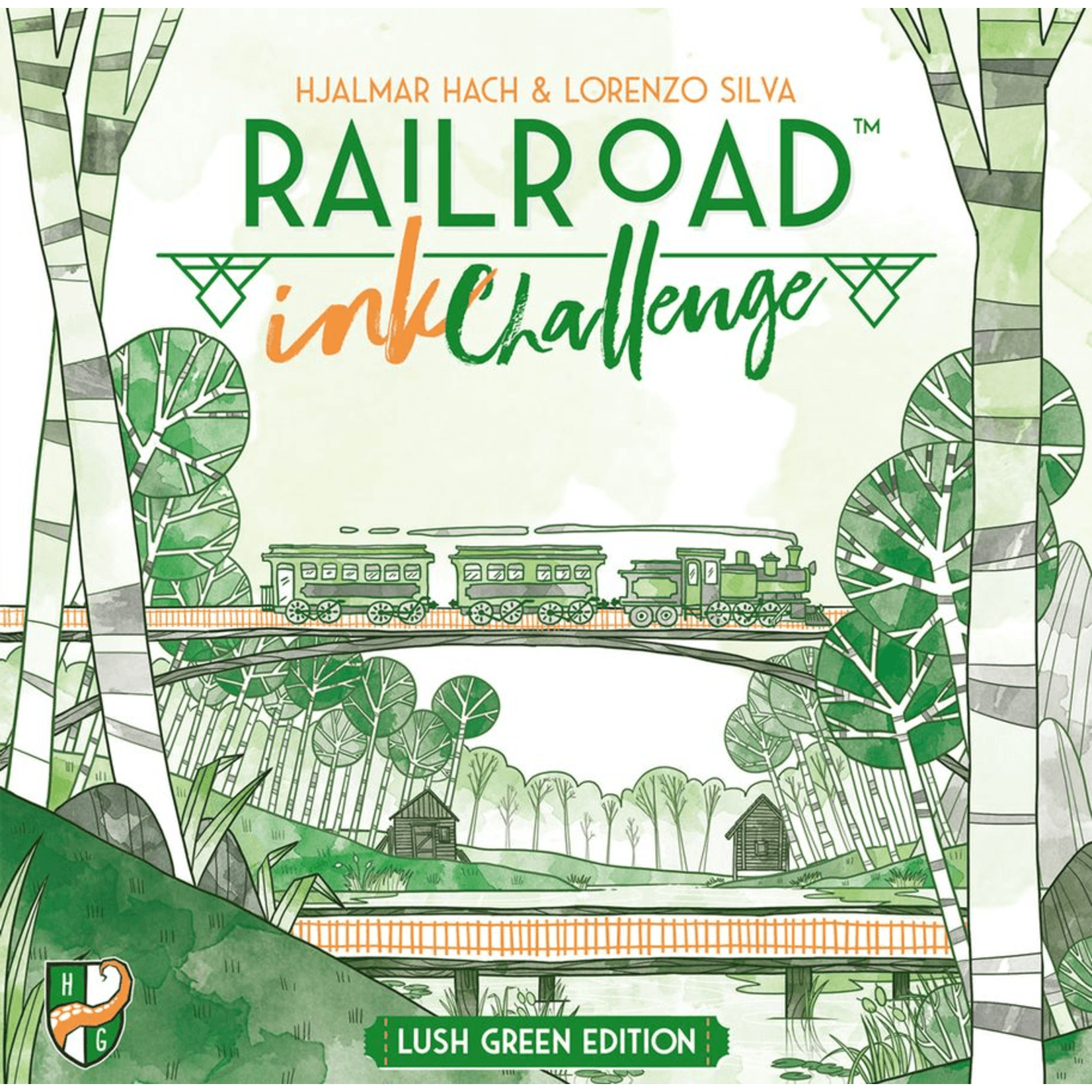 Railroad Ink: Green