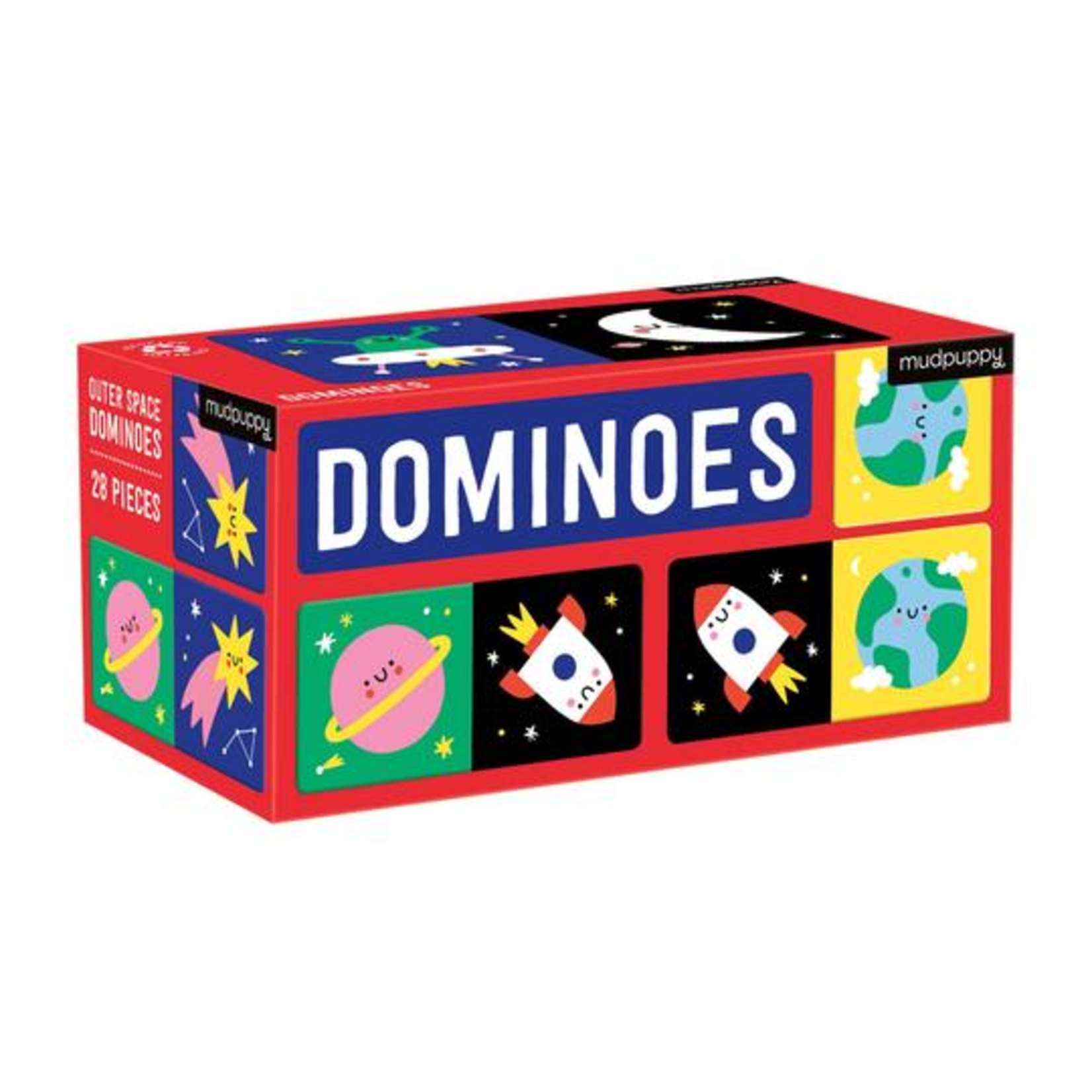 Mudpuppy Dominoes: Outer Space