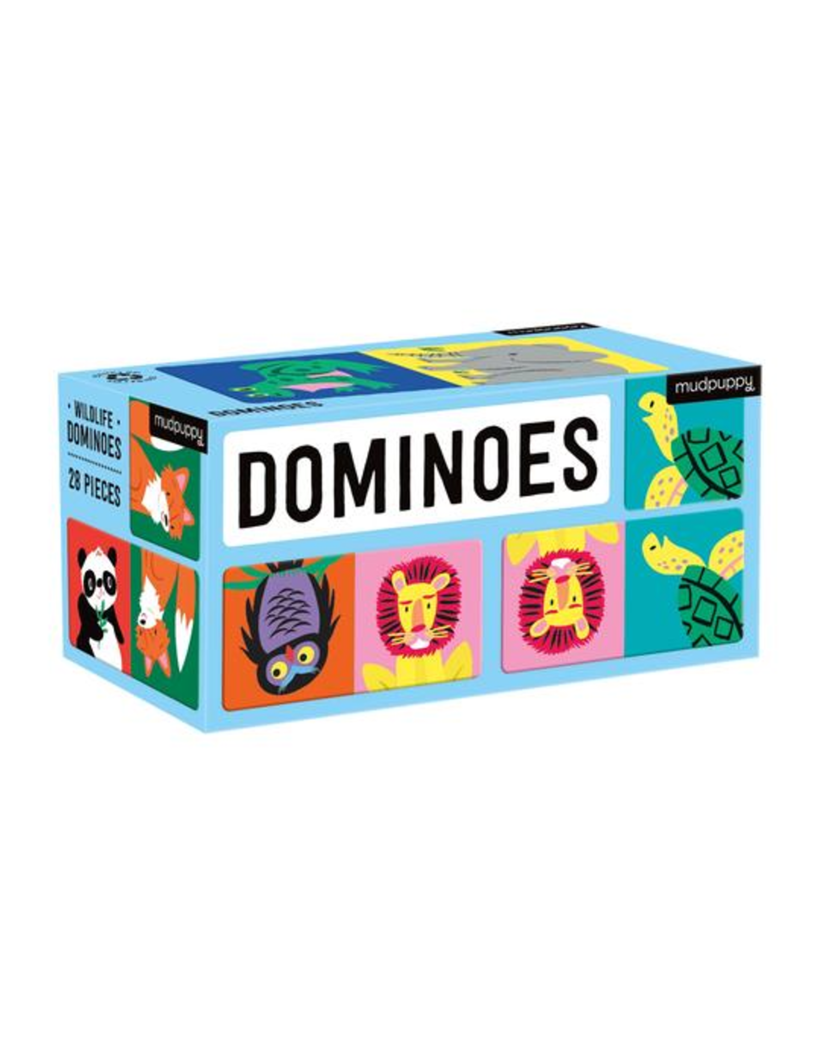 Mudpuppy Dominoes: Wildlife