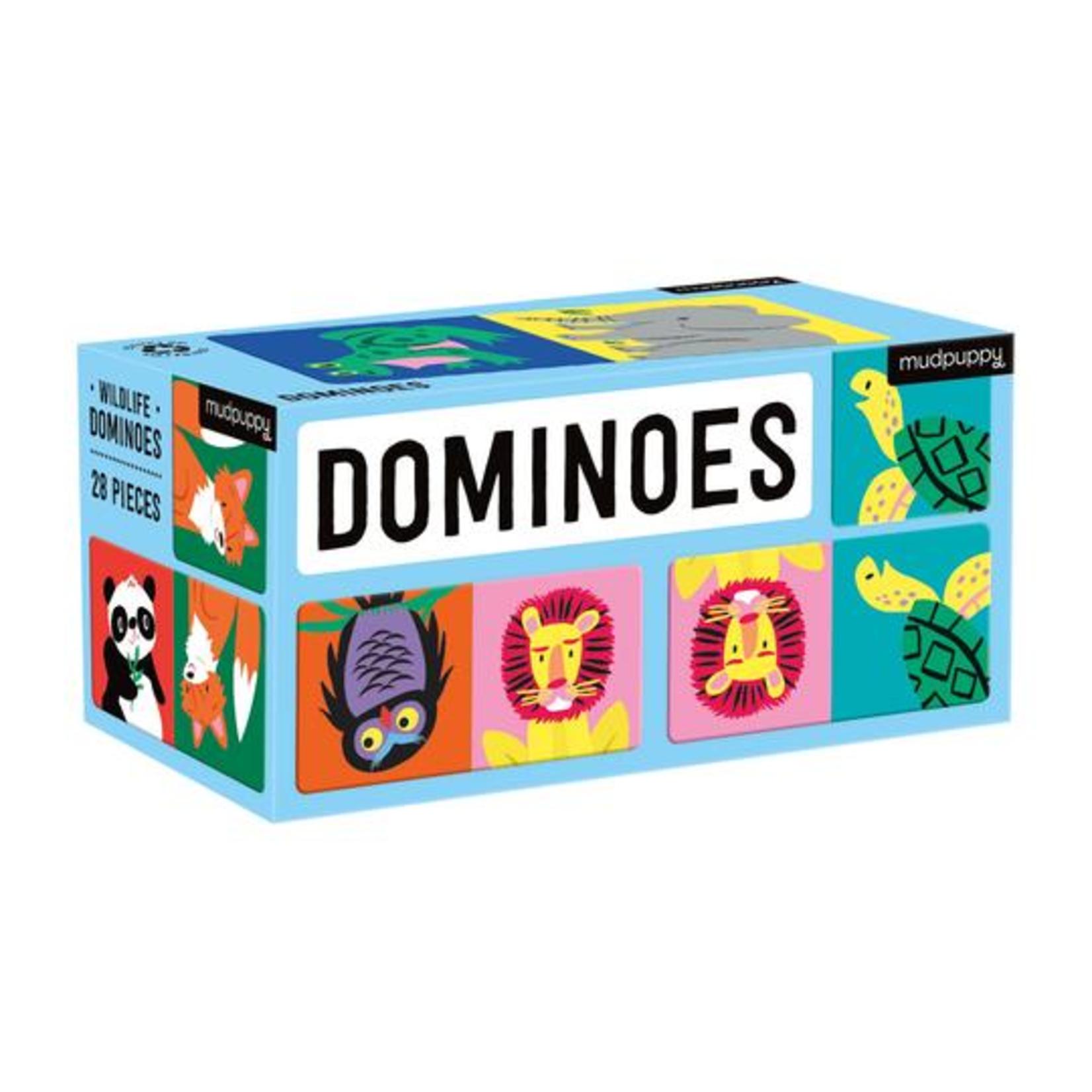 Mudpuppy Dominoes: Wildlife
