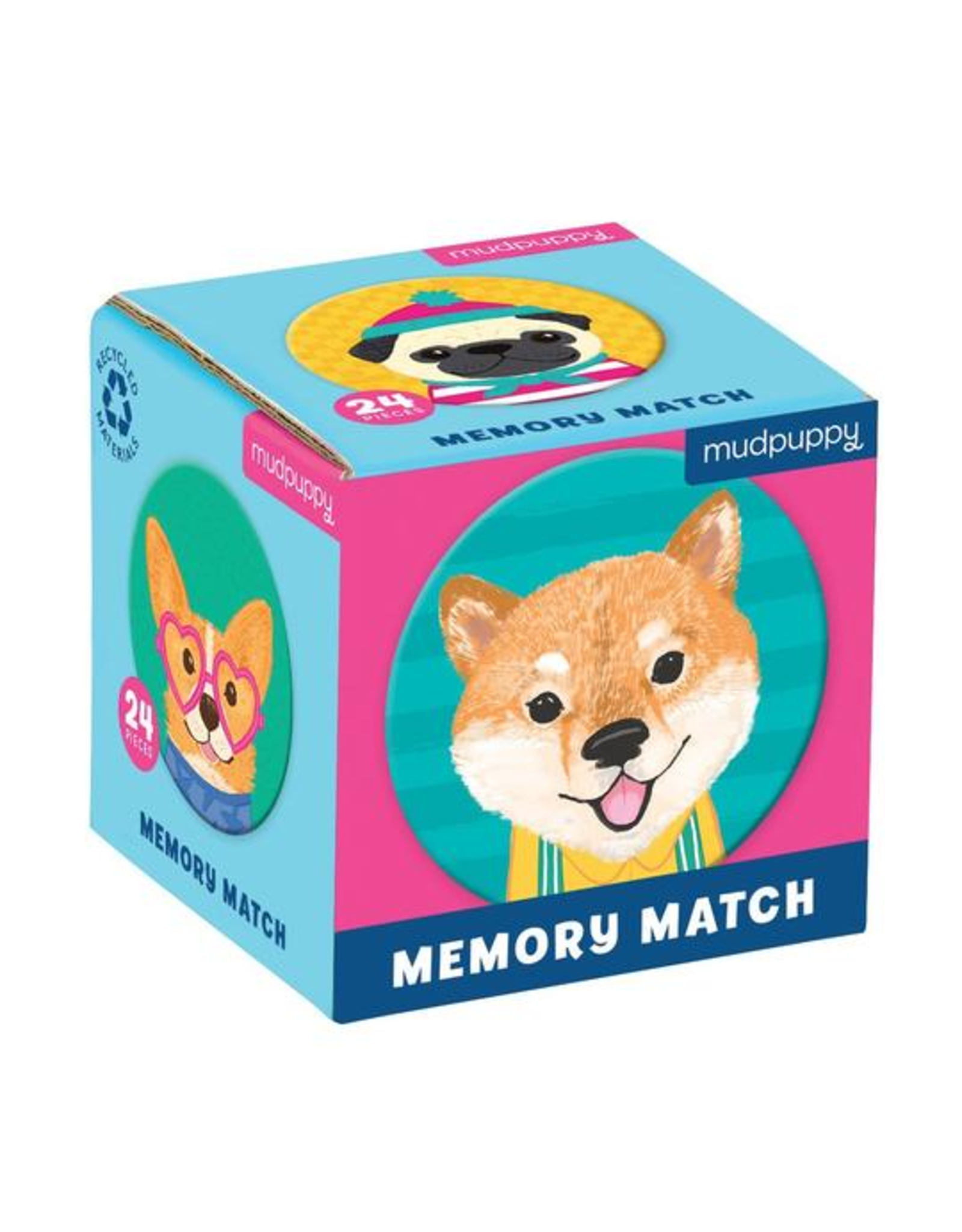 Mudpuppy Dog Portraits Memory Match