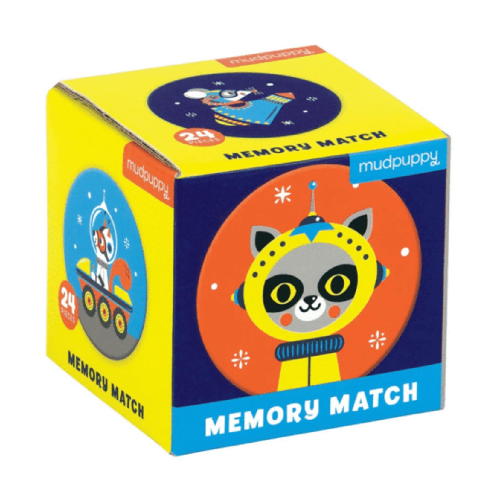 Mudpuppy Memory Match: Outer Space