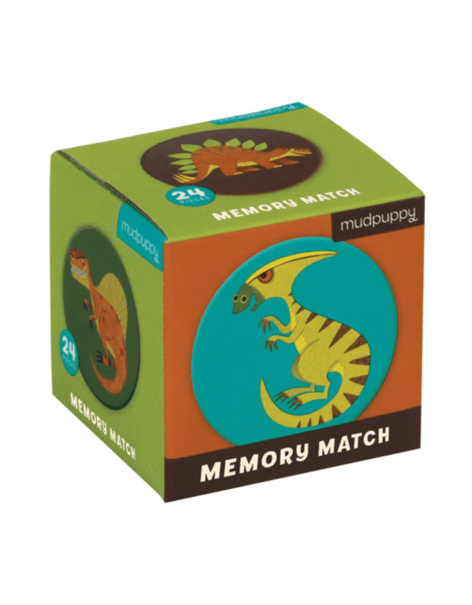 Mudpuppy Memory Match: Mighty Dinosaurs