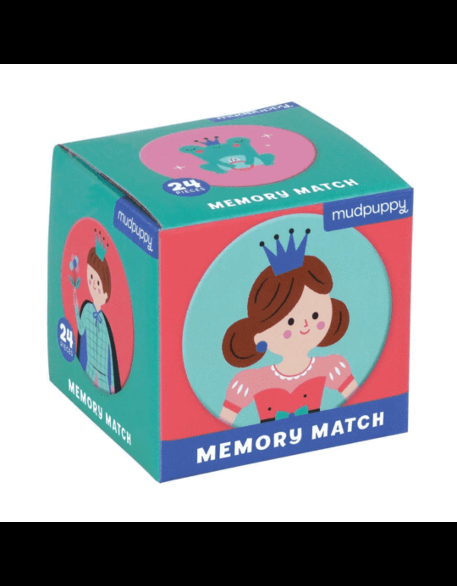 Mudpuppy Memory Match: Enchanting Princess
