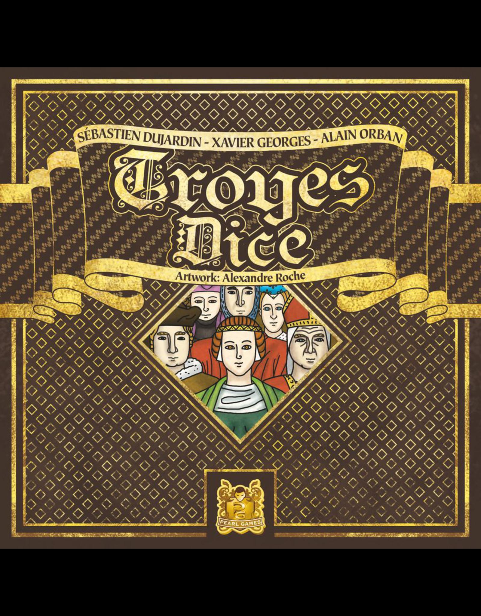 Asmodee Troyes Dice