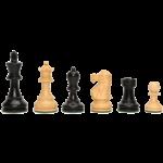 "Wood Expressions CHESS MEN: Sm Black (3.25"")"