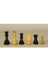 "CHESS MEN: Lg Black Old Russian (3.75"")"