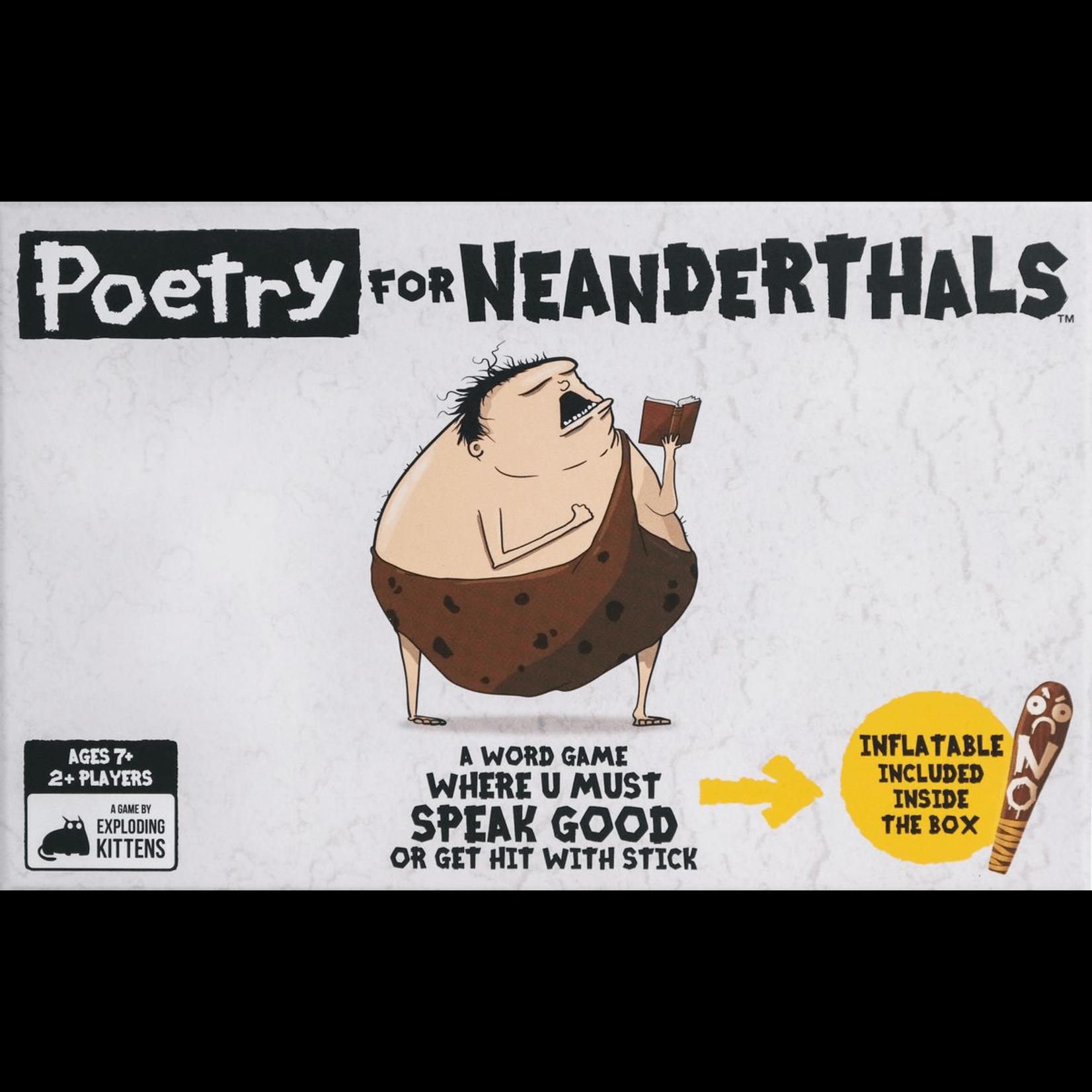 Exploding Kittens Poetry for Neanderthals