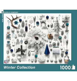 New York Puzzle Co Winter Collection 1000pc
