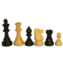 "CHESS MEN: Sm Black French (3"")"