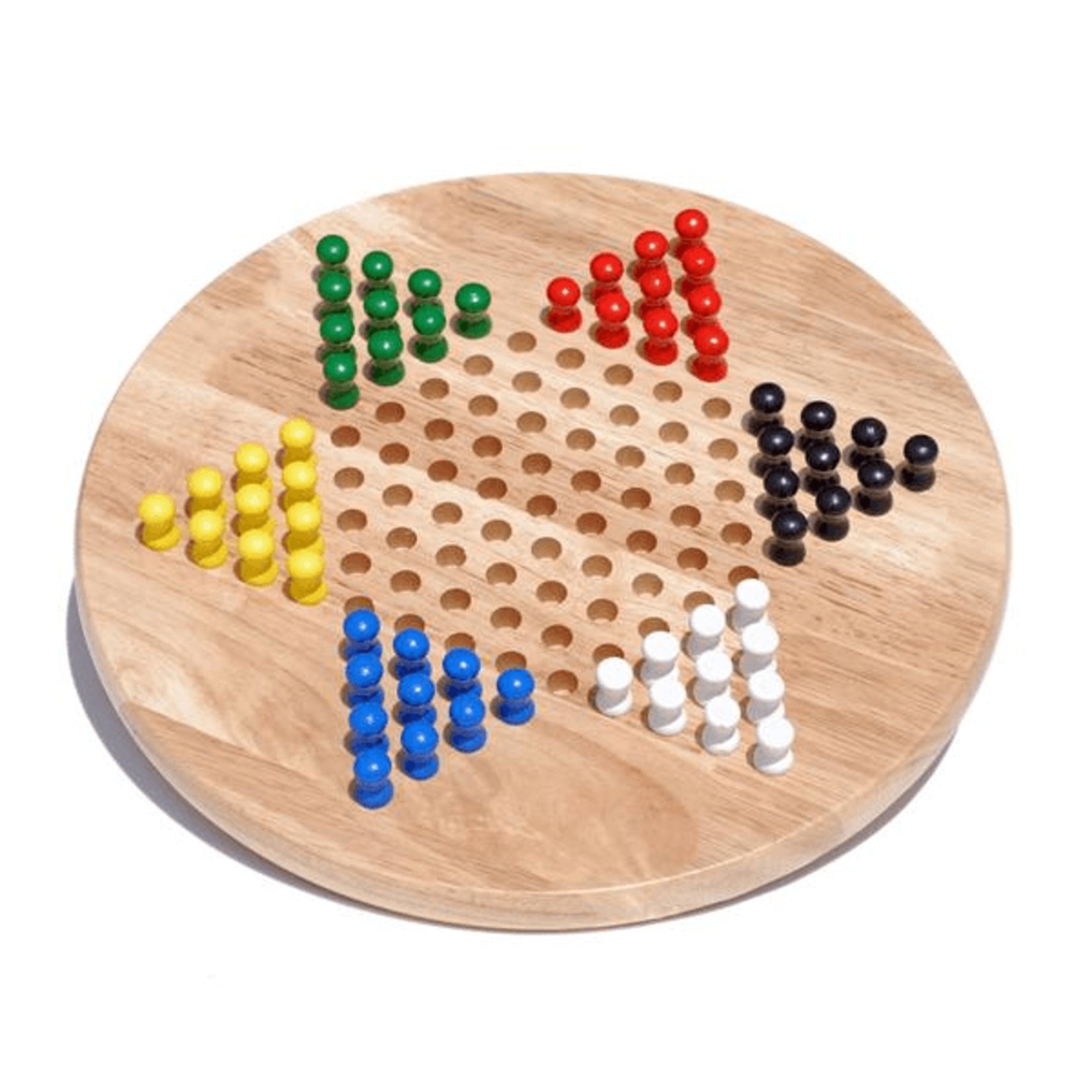 Chinese Checkers w/Pegs