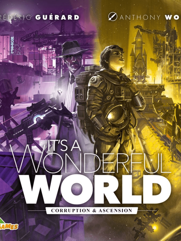 Lucky Duck Games Its a Wonderful World: Corruption and Ascension