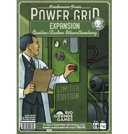 Rio Grande Games Power Grid: Quebec / Baden