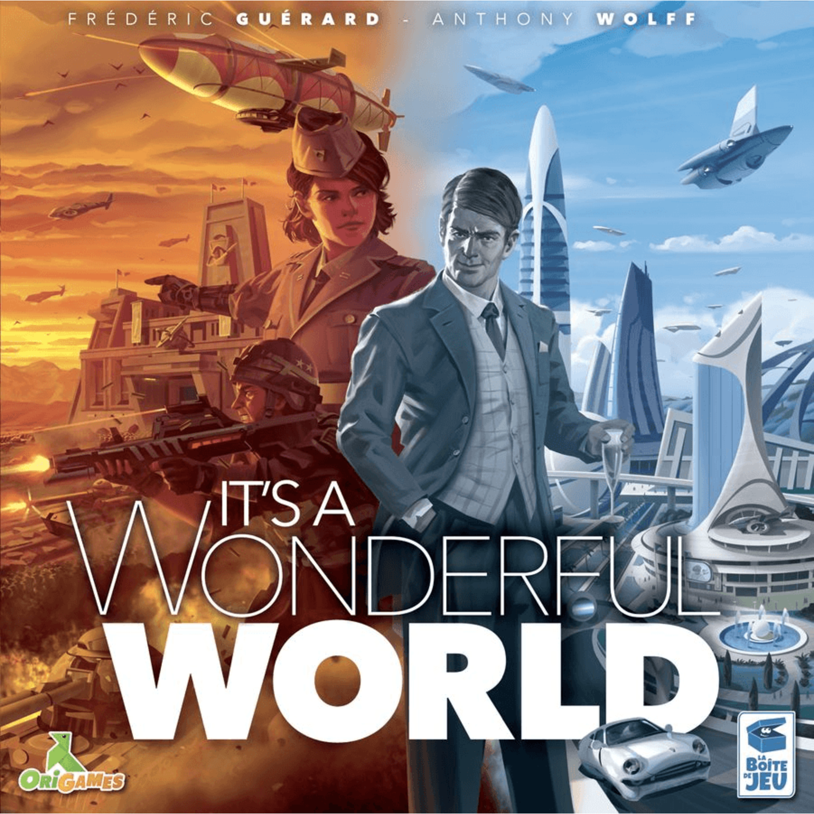 Lucky Duck Games Its a Wonderful World