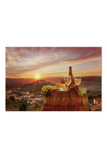White Wine  with  View 1000pc