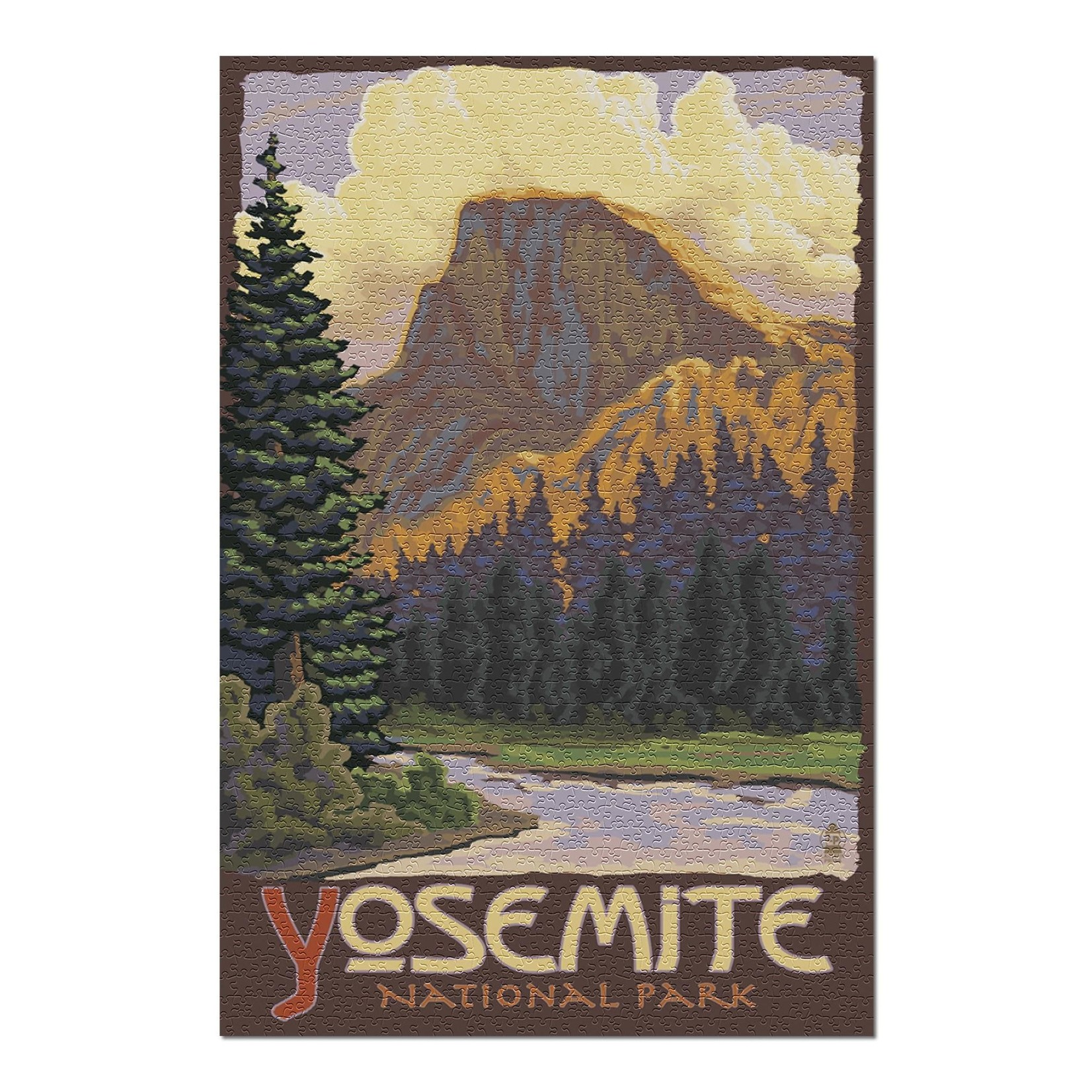 Lantern Press Yosemite NP 1000 pc