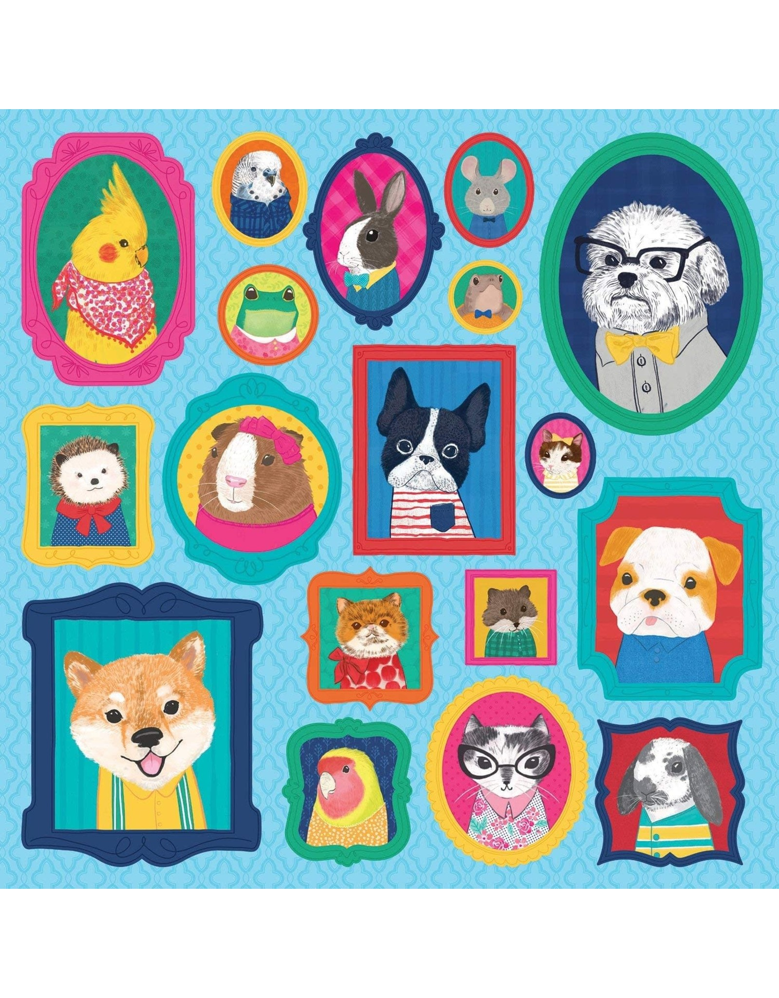 Mudpuppy Pet Portraits 500pc