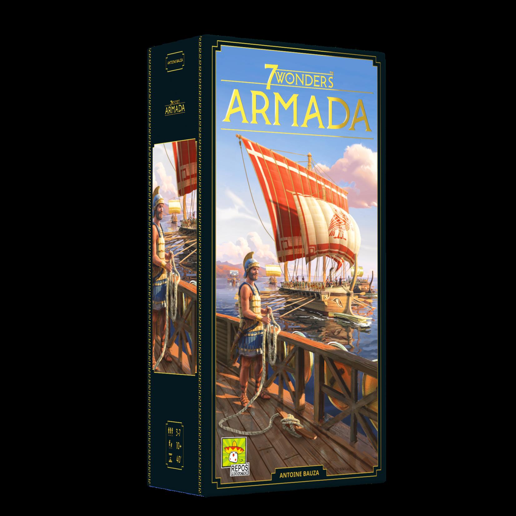 Asmodee 7 Wonders: Armada