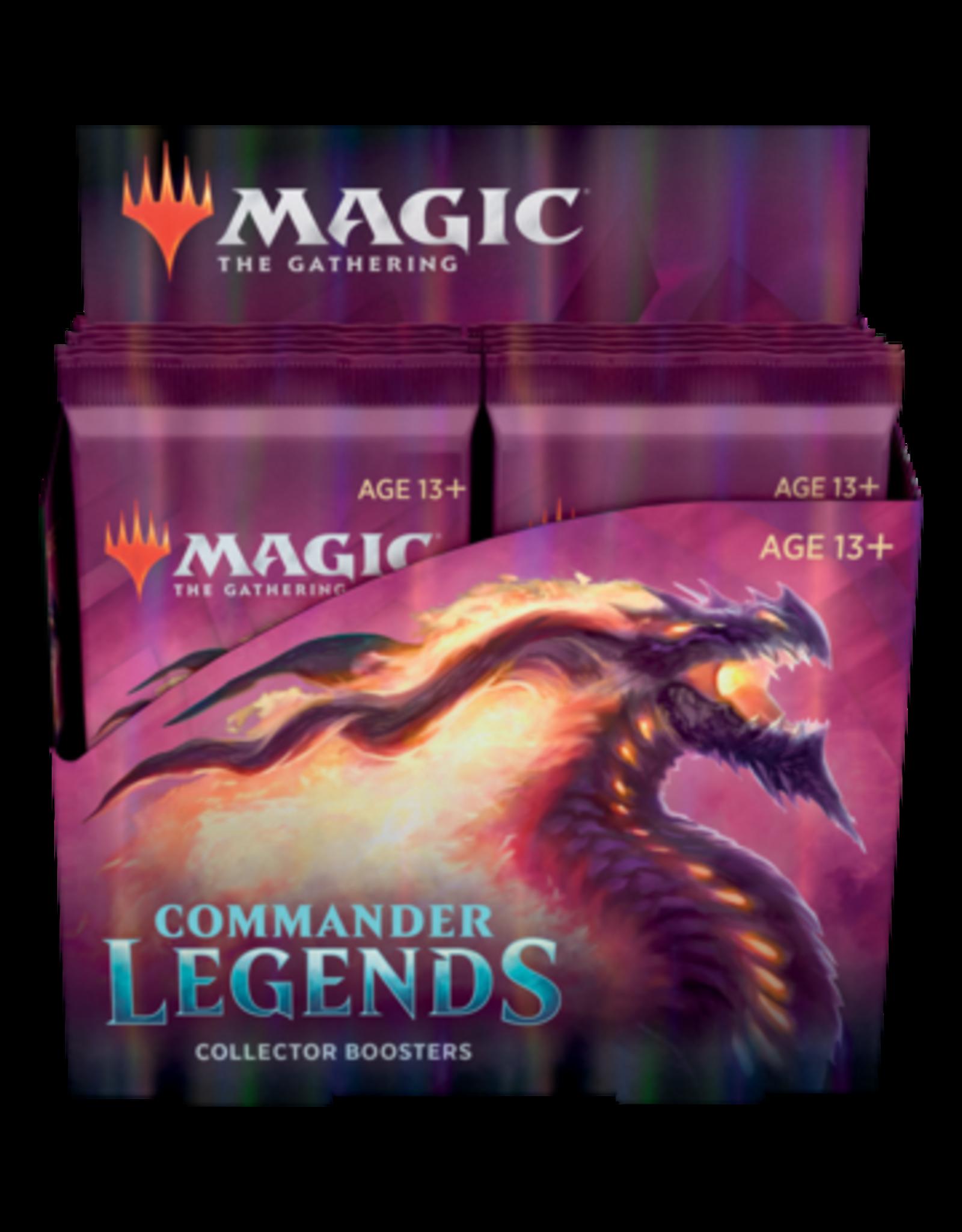 Wizards of the Coast MTG: Commander Legends Collector Bstr (Box)