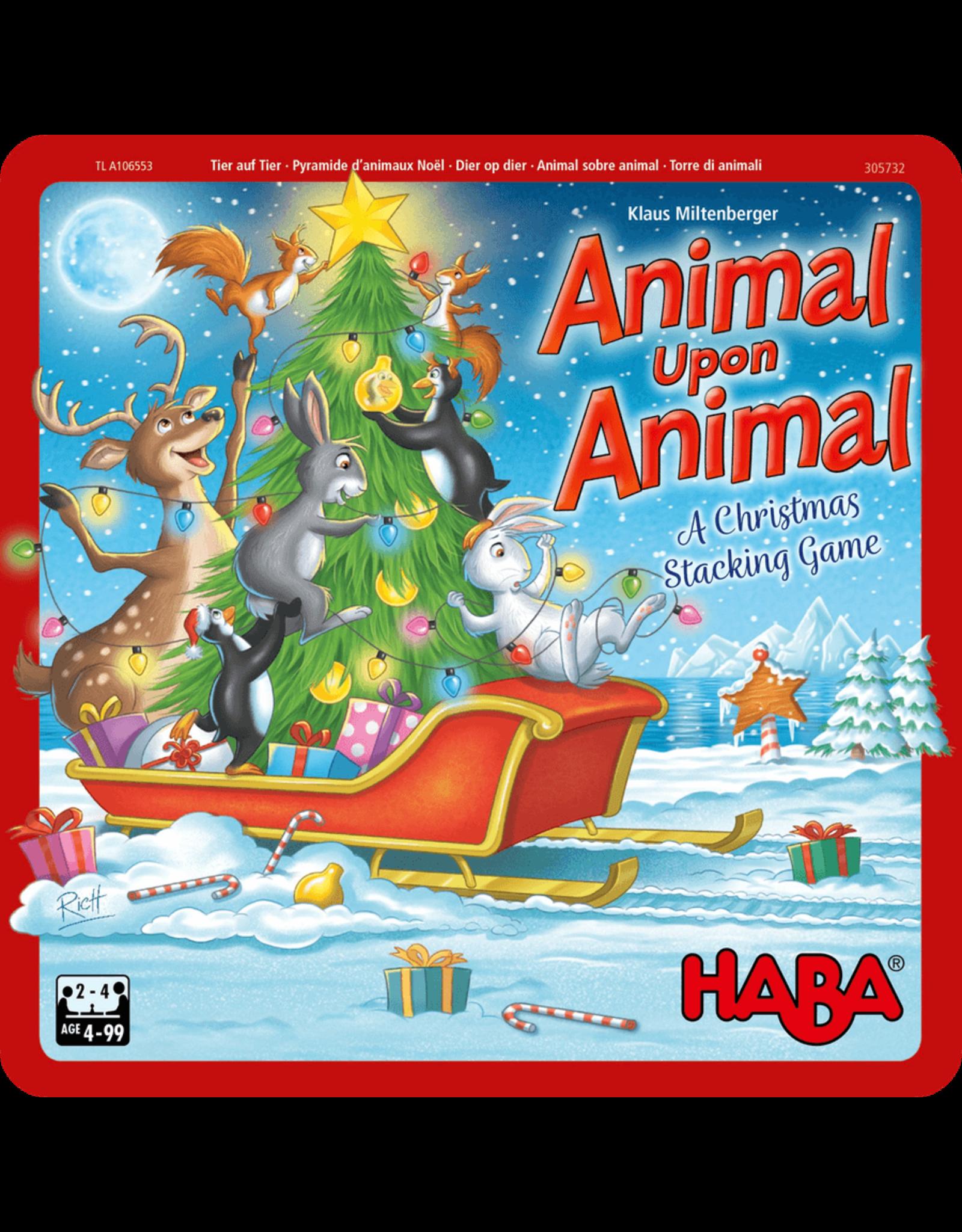 Haba Animal Upon Animal: Christmas Tin