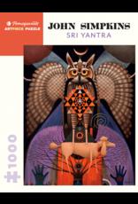 Pomegranate Puzzles Sri Yantra 1000pc