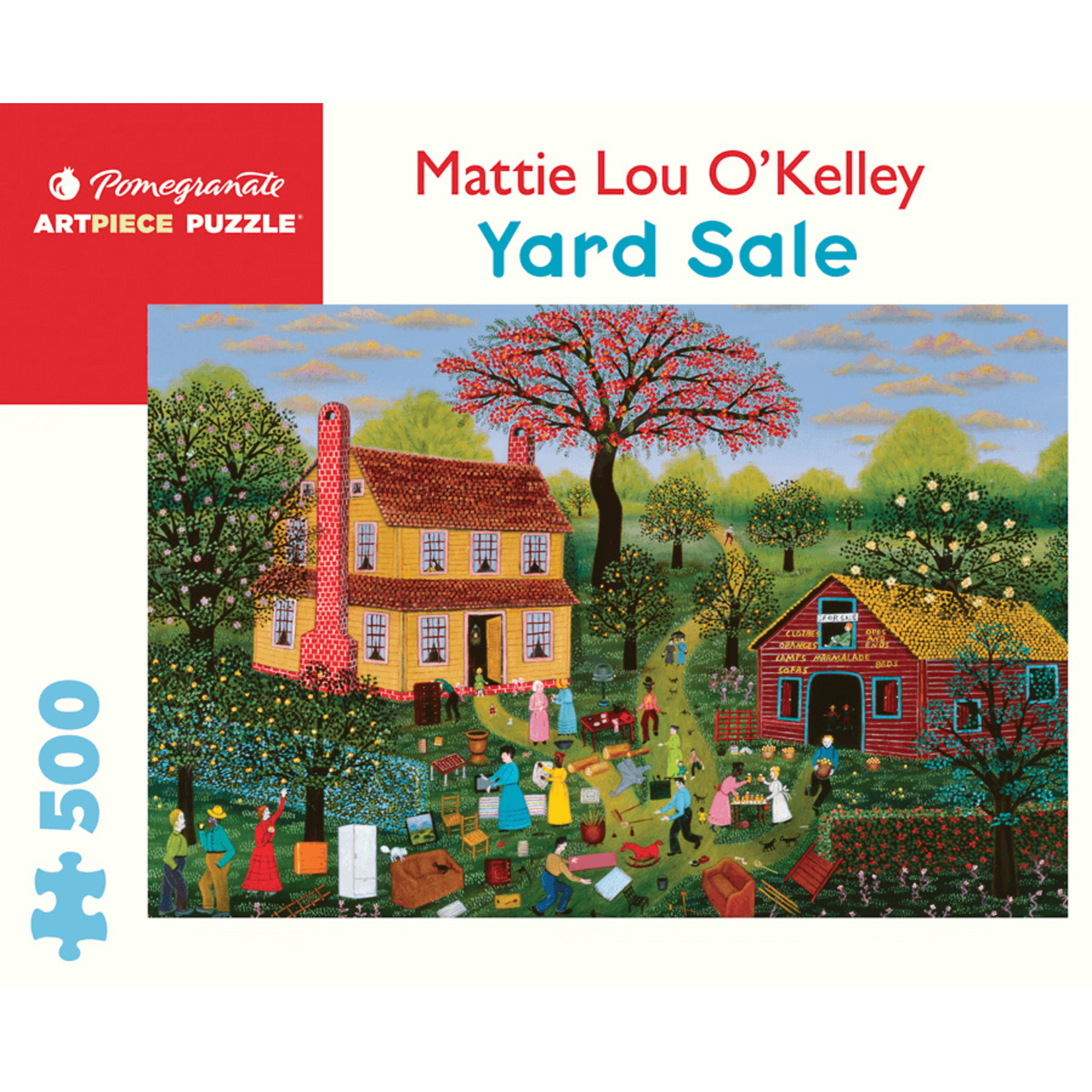 Pomegranate Puzzles Yard Sale 500pc