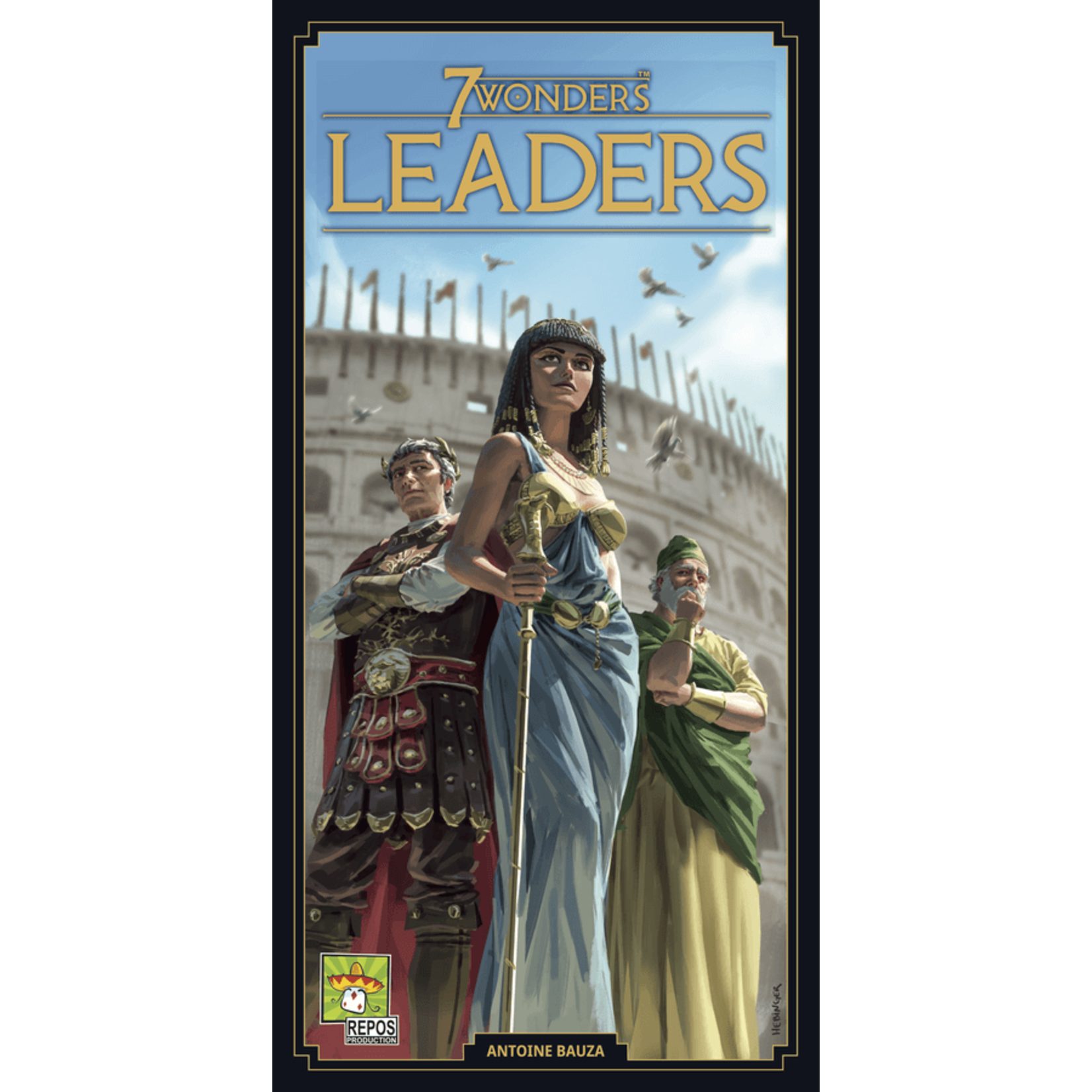 Asmodee 7 Wonders: Leaders (New Edition)