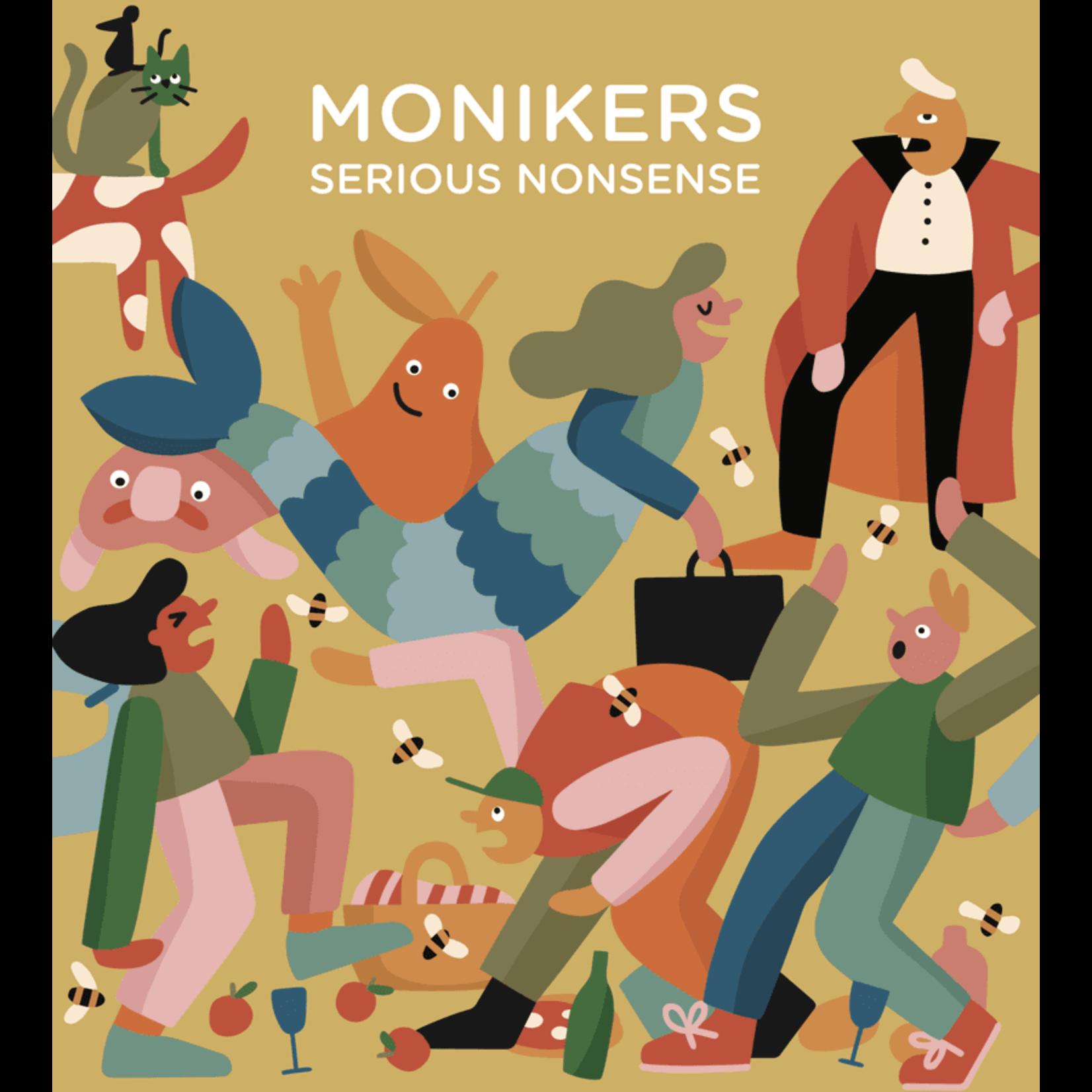 Asmodee Monikers: Serious Nonsense Expansion