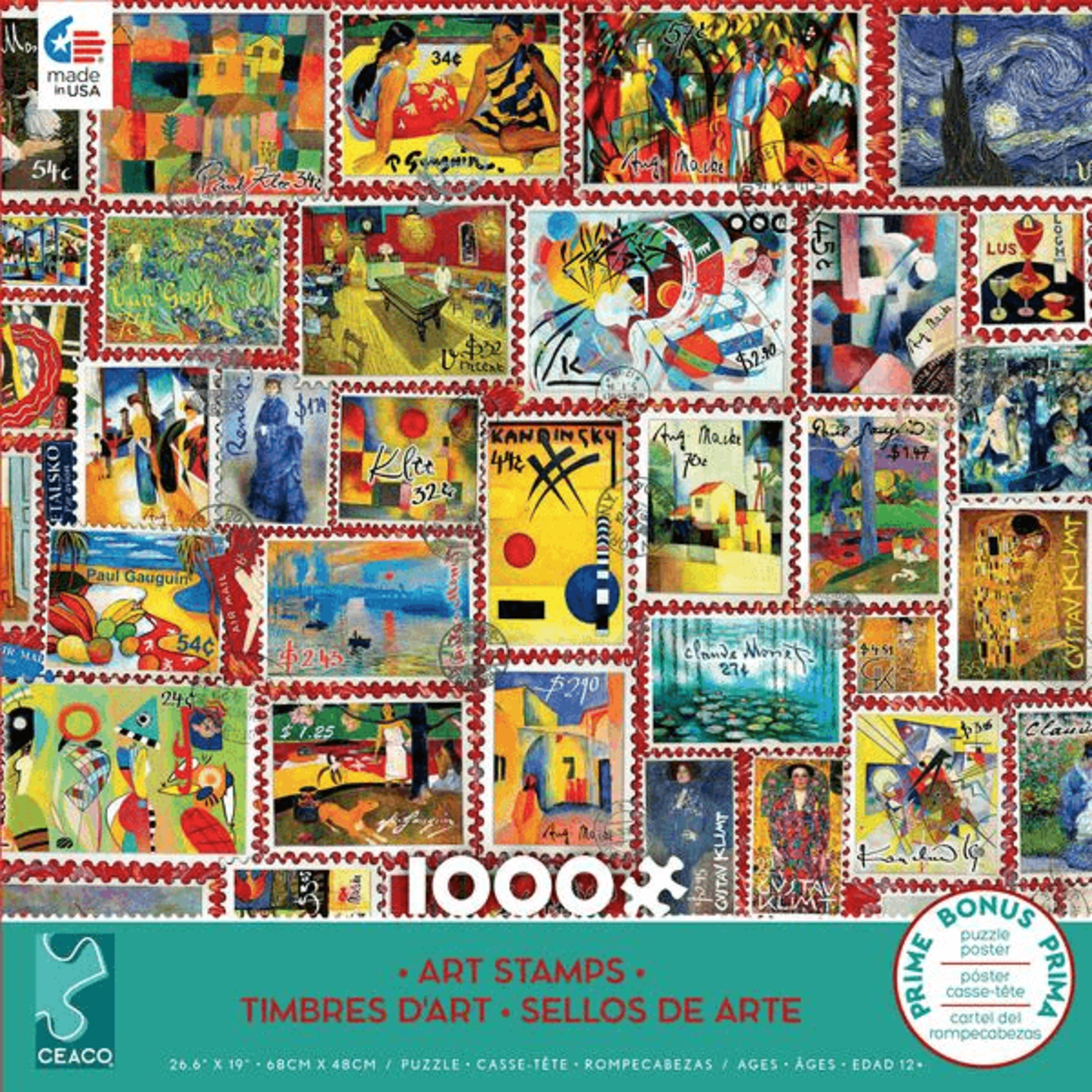 CEACO Art Stamps 1000pc