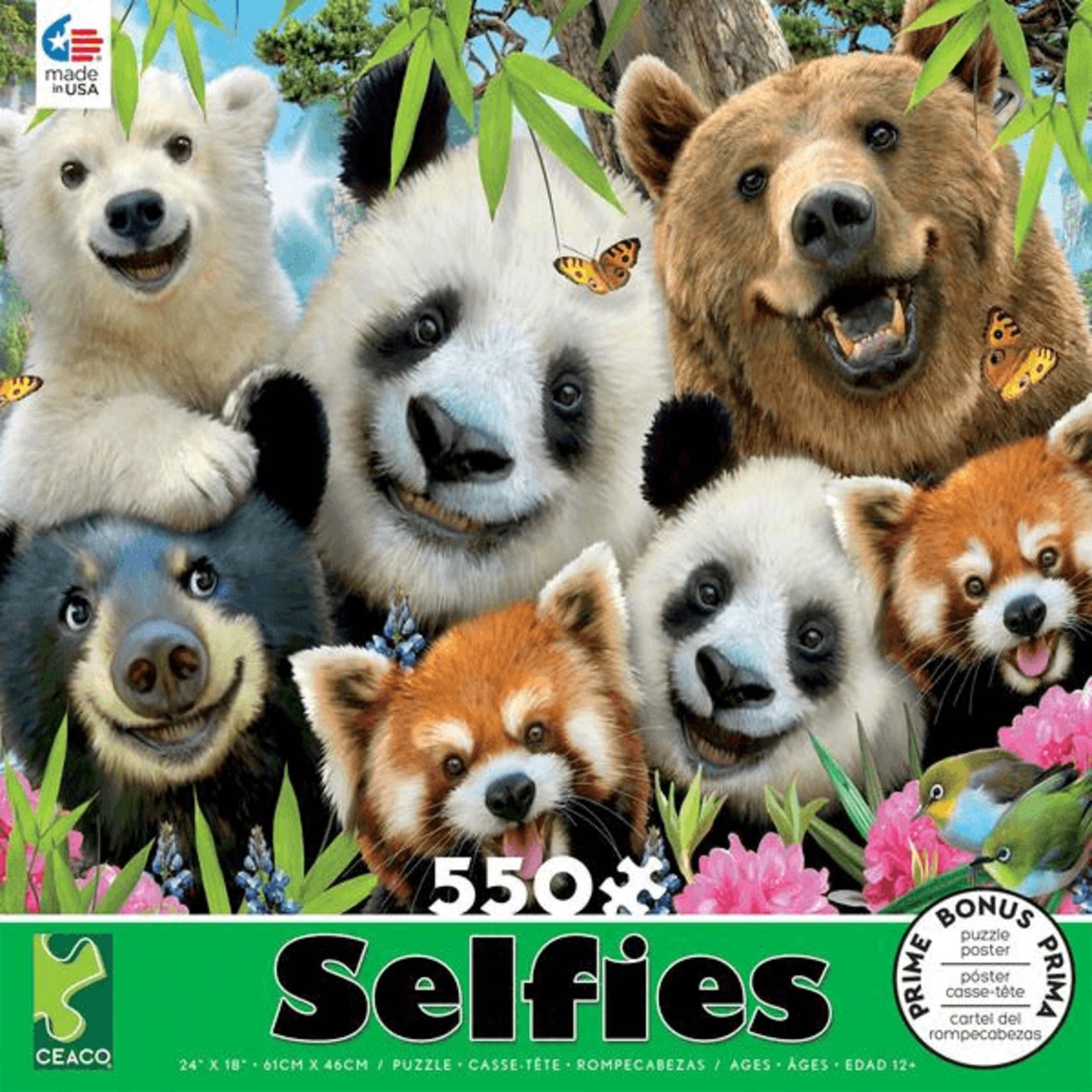 CEACO Bear Essentials Selfies 550pc