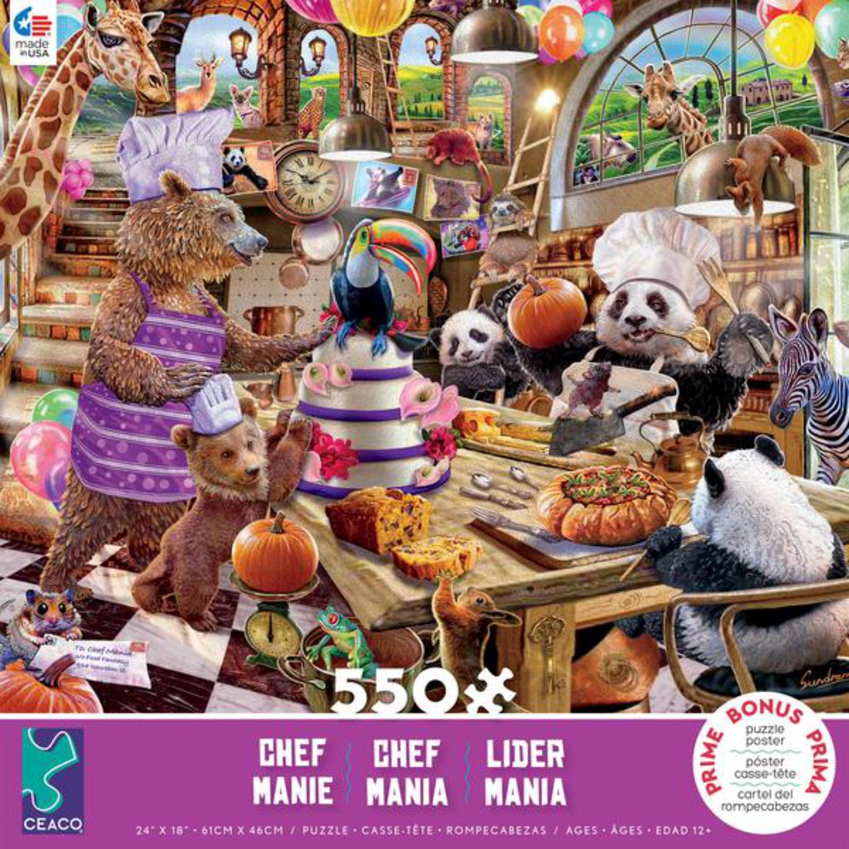 CEACO Chef Mania 550pc