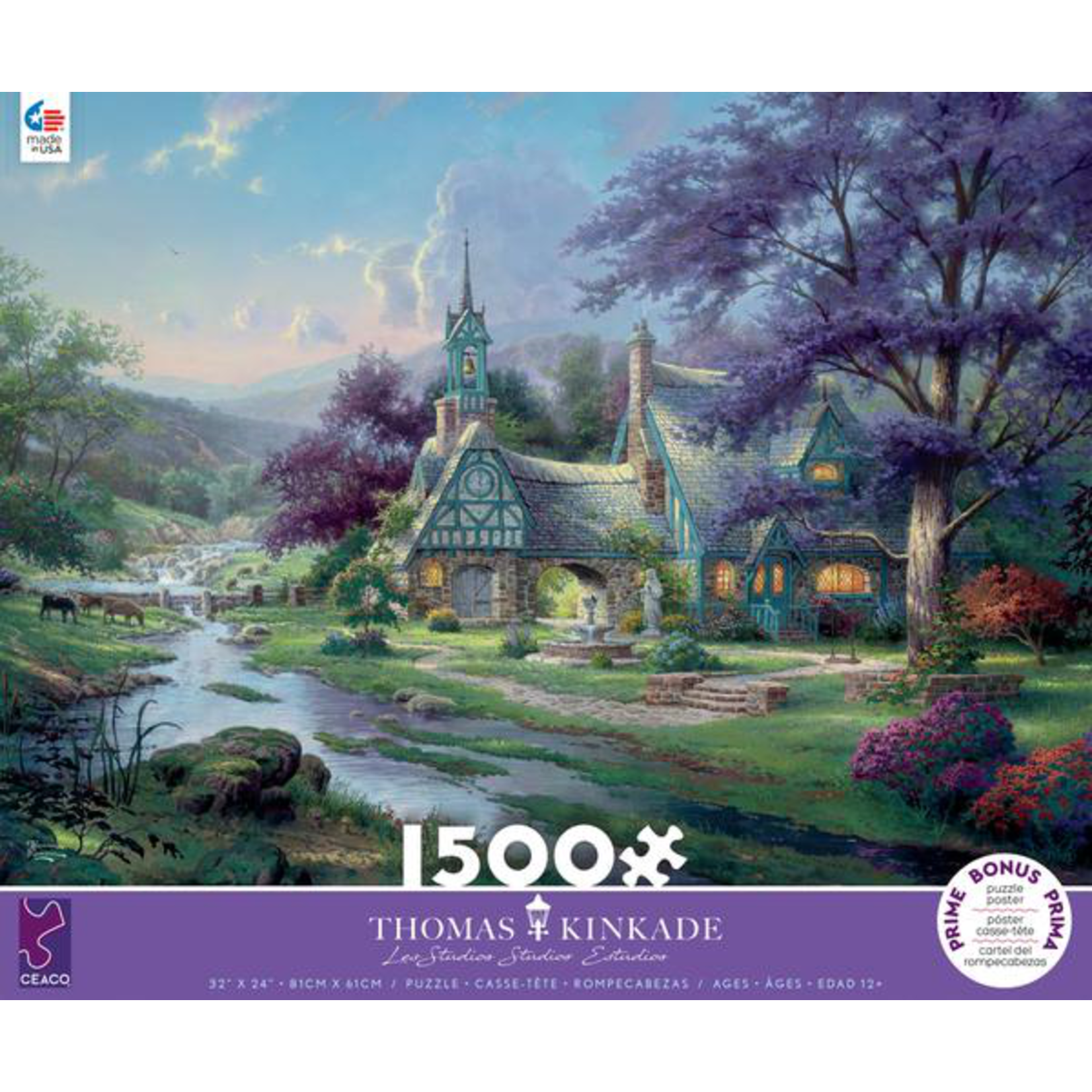 CEACO Clockwater Cottage 1500pc