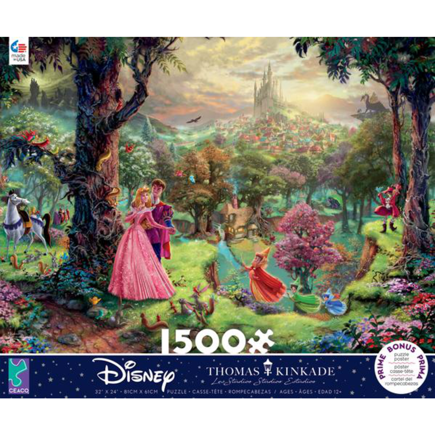 CEACO Disney Sleeping Beauty 1500pc