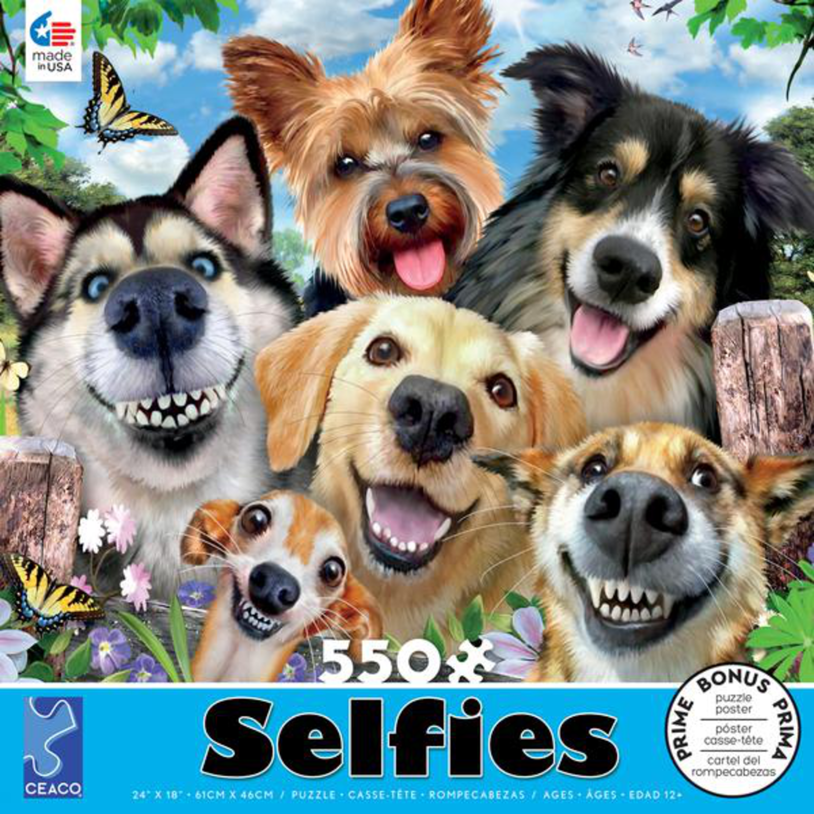 CEACO Dog Delight Selfies 550pc