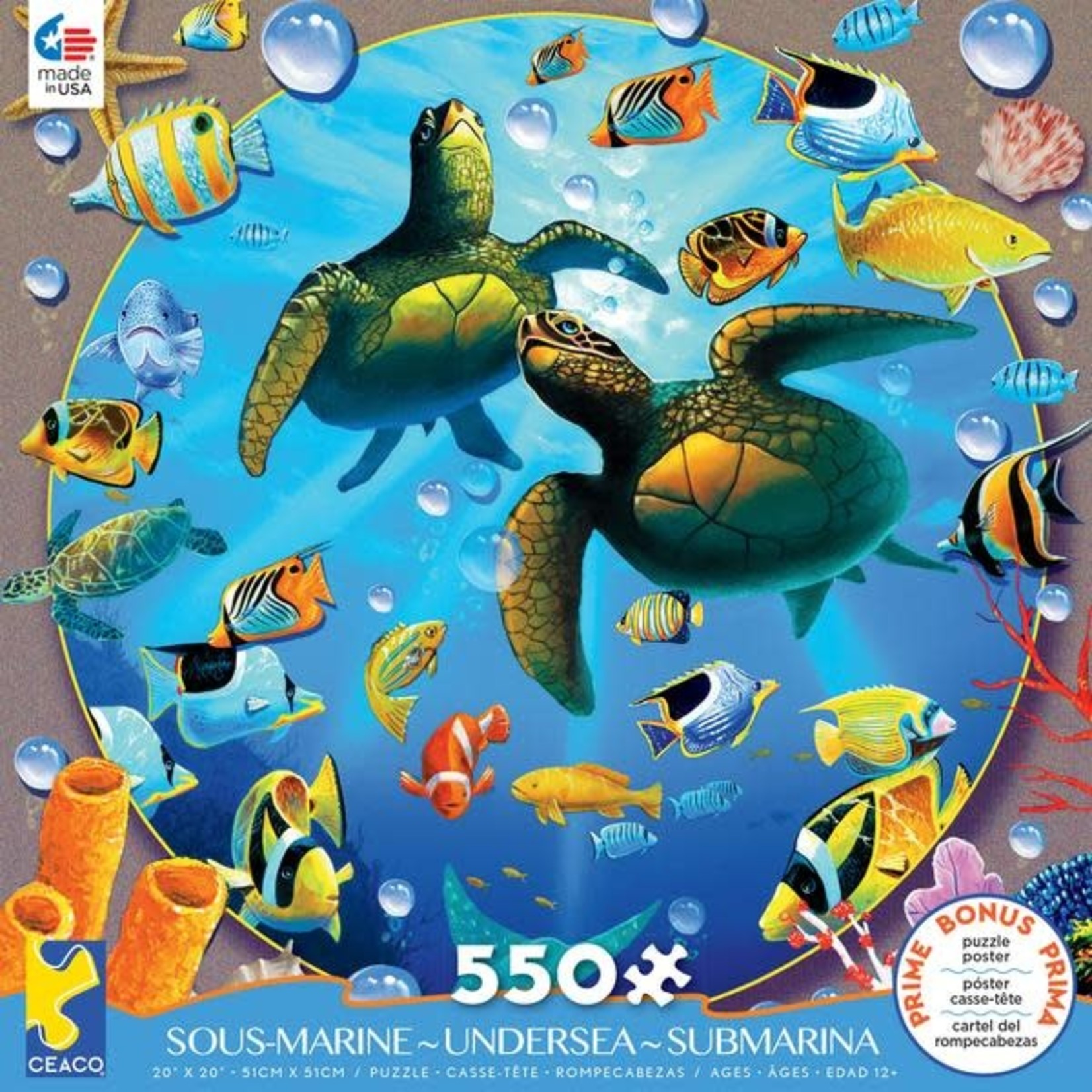 CEACO Honu Paradise US 550pc