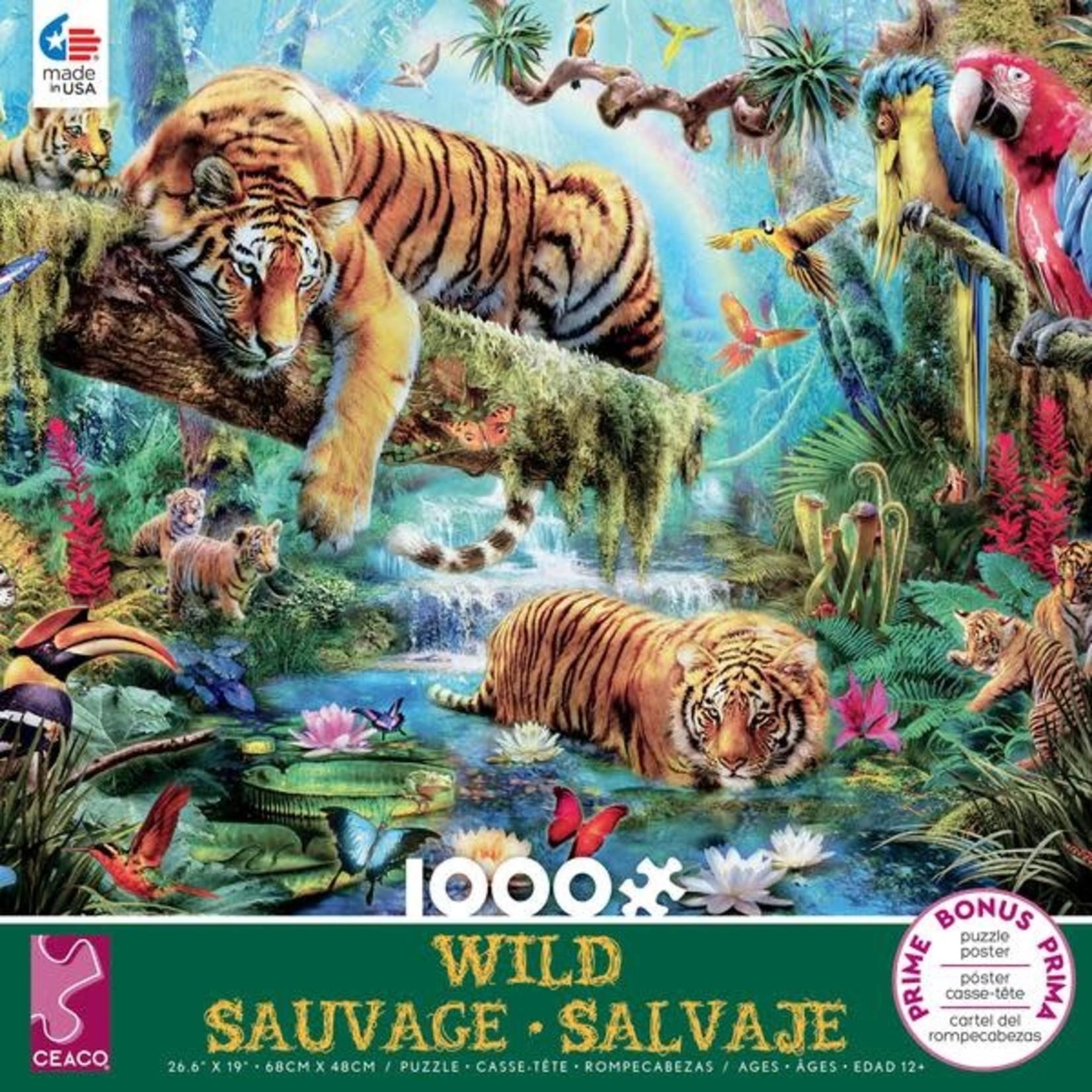 CEACO Idyllic Tiger Wild 1000pc