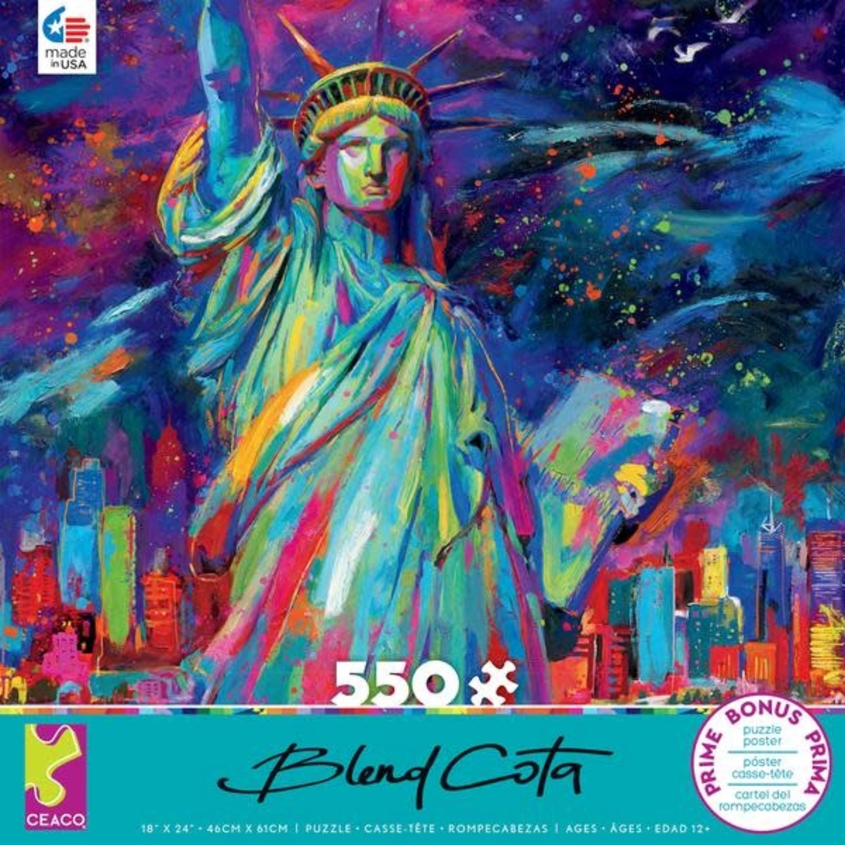 CEACO Lady Liberty BC 550pc