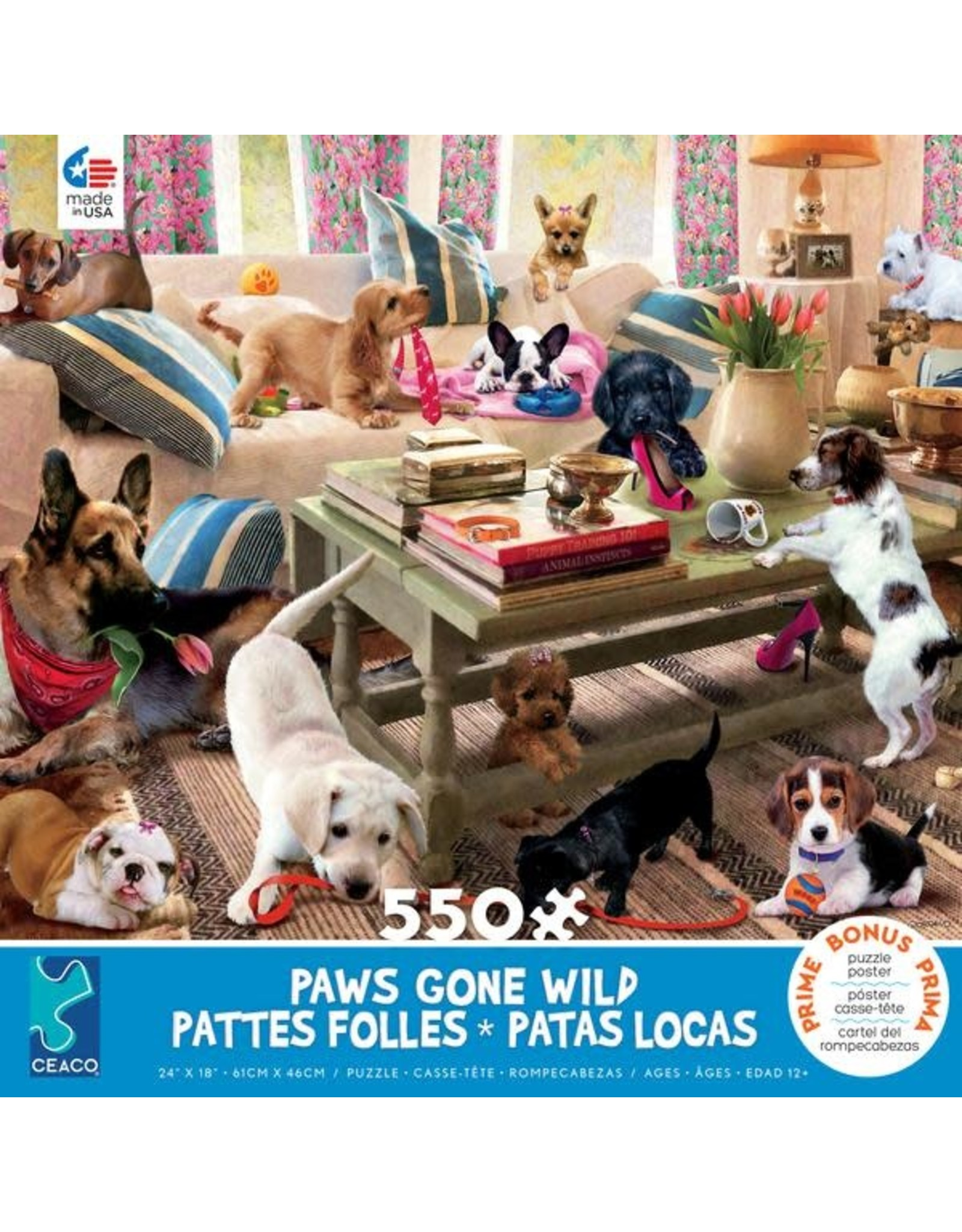 CEACO Living Room Rompers PGW 550pc