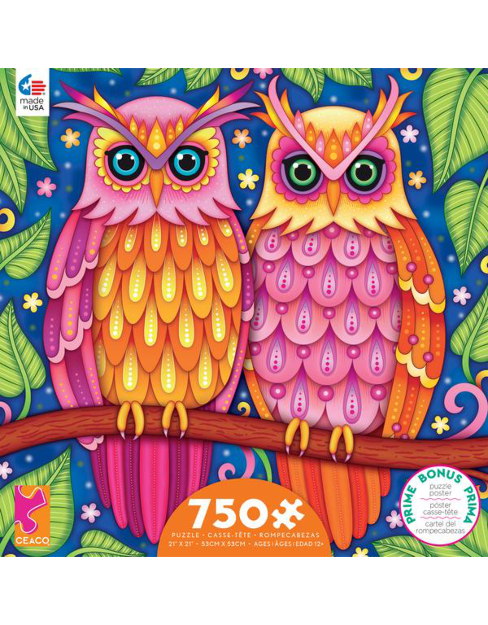 CEACO Owls GA 750pc