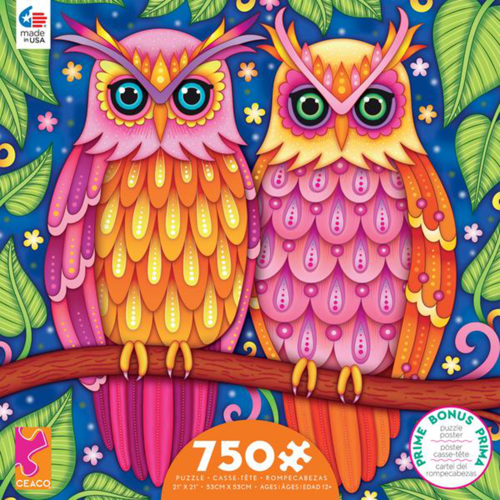 CEACO Owls GA 750pc