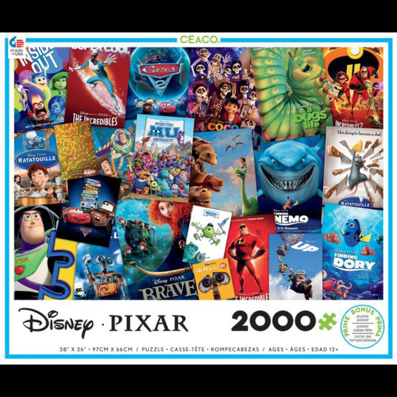 CEACO Pixar Movie Posters 2000pc